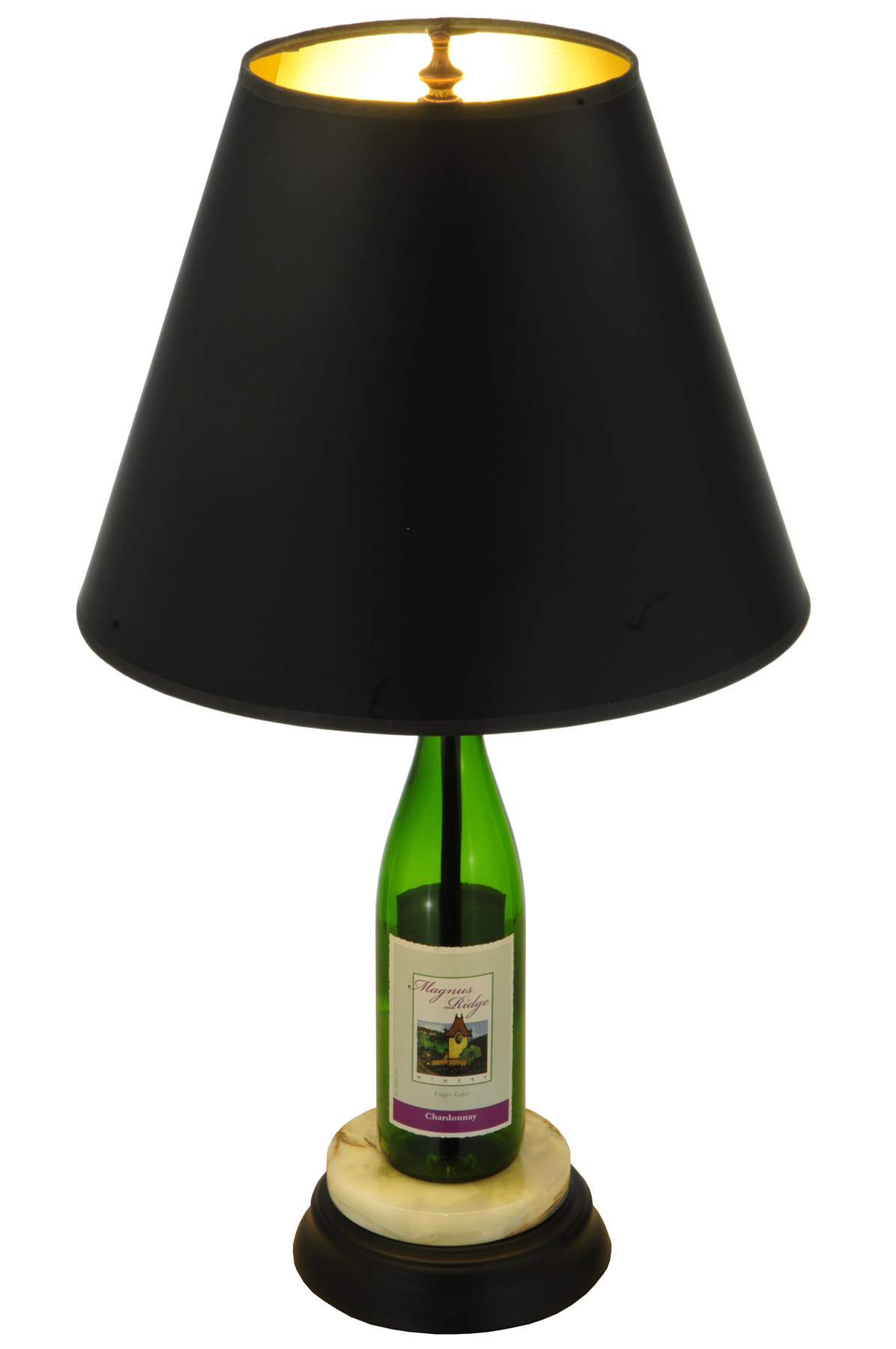 Meyda 134264 Personalized Wine Bottle Table Lamp