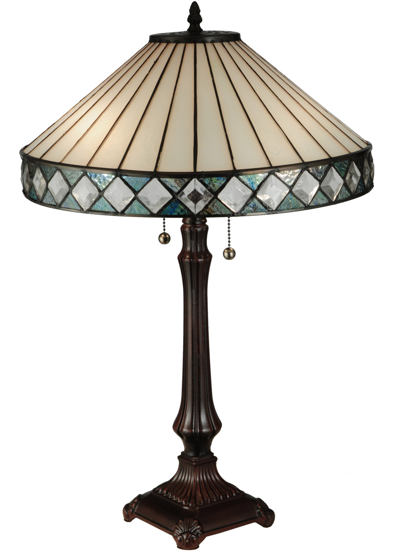 Meyda 134537 Diamondring Table Lamp