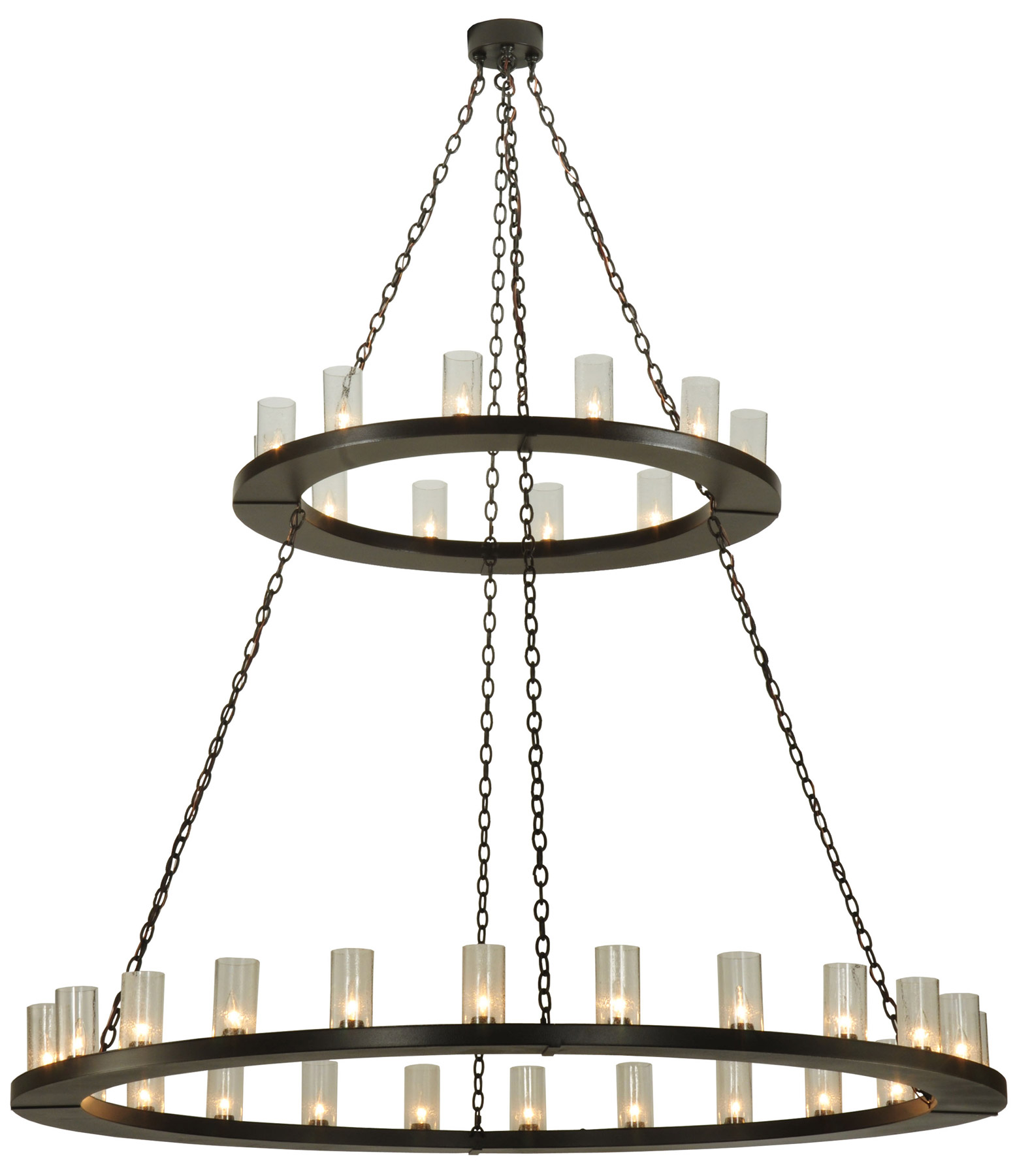 Meyda Loxley Two Tier Chandelier