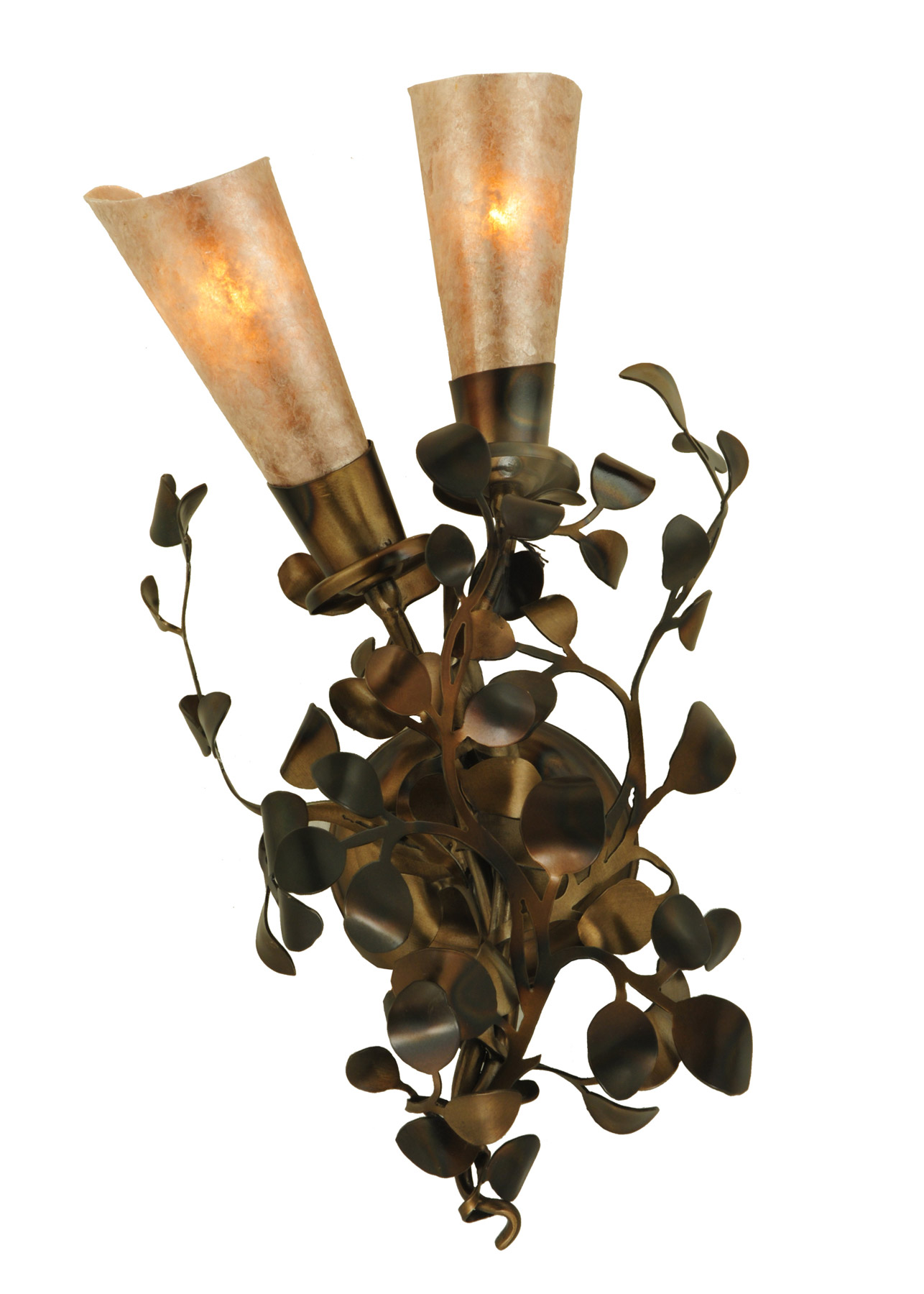 Wall Sconces With Vines : Meyda 134696 Vinca Vine Wall Sconce