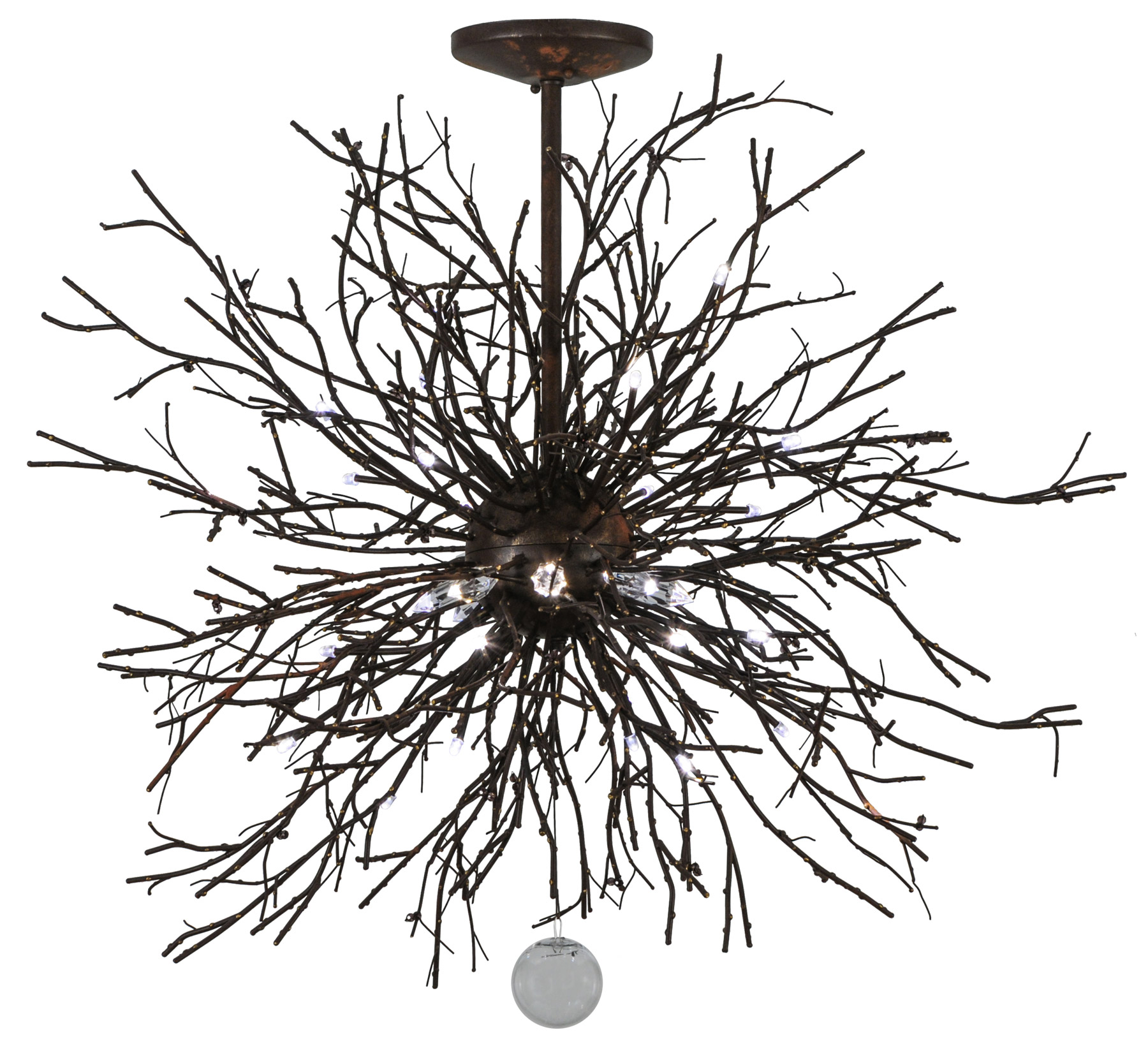 Meyda 136523 Pussy Willow Led Chandelier