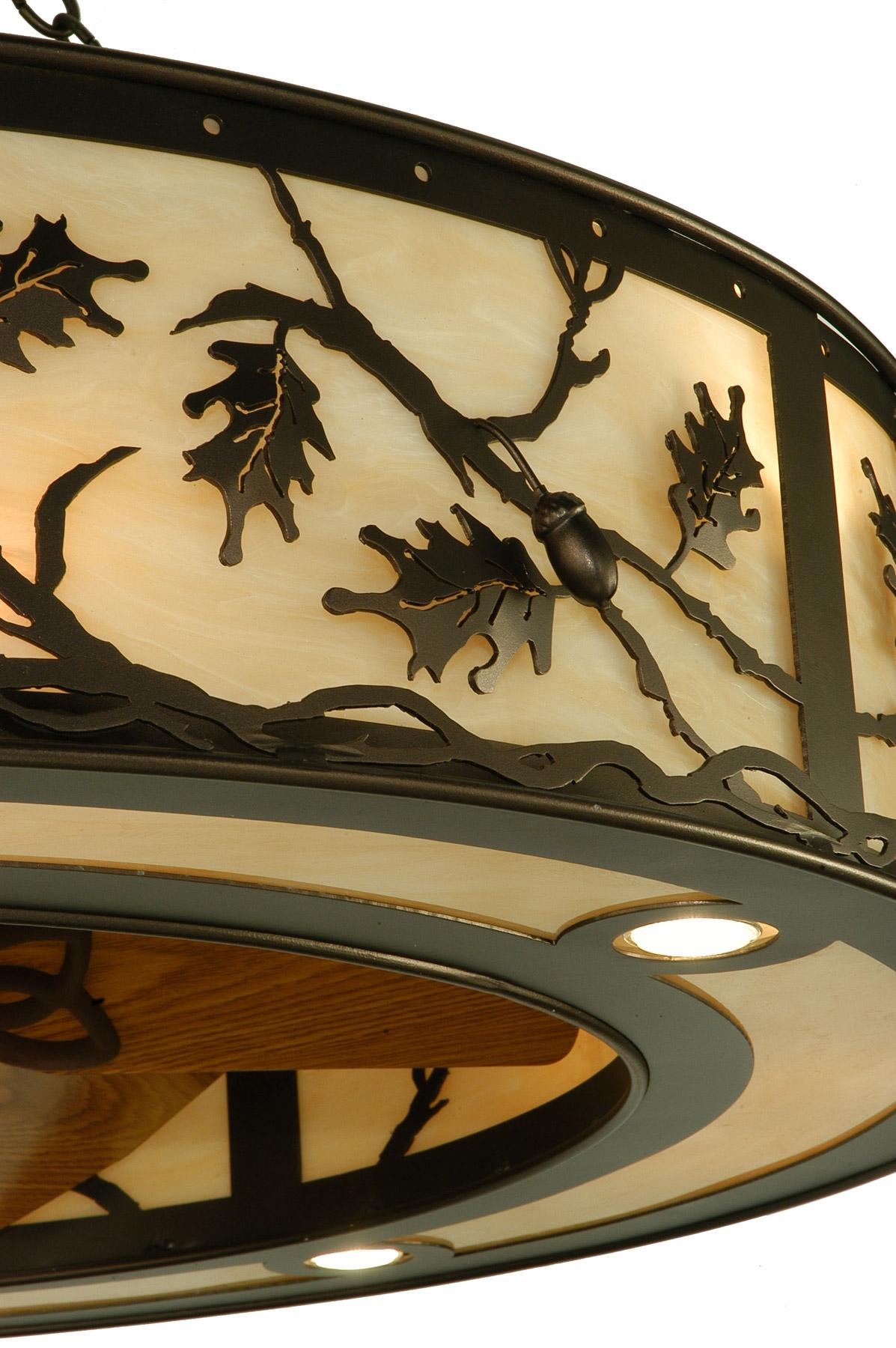Meyda 136747 Oak Leaf Amp Acorn Chandel Air