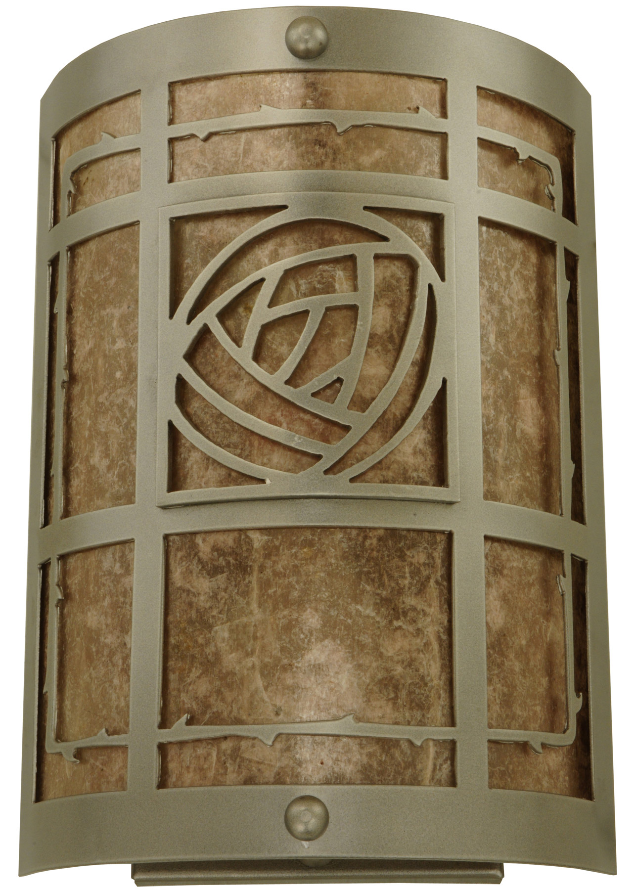 Meyda 137313 Bungalow Rose Wall Sconce