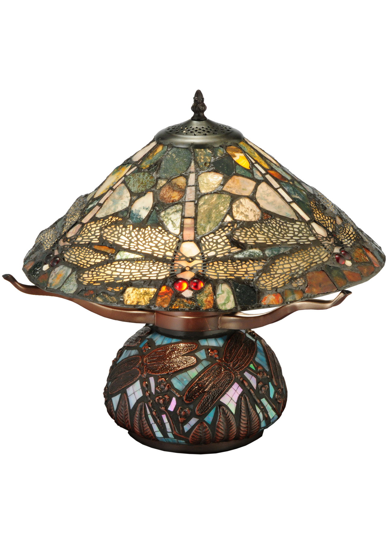 Meyda 138103 dragonfly agate table lamp alternate image 1 alternate image 2 alternate image 3 aloadofball Image collections