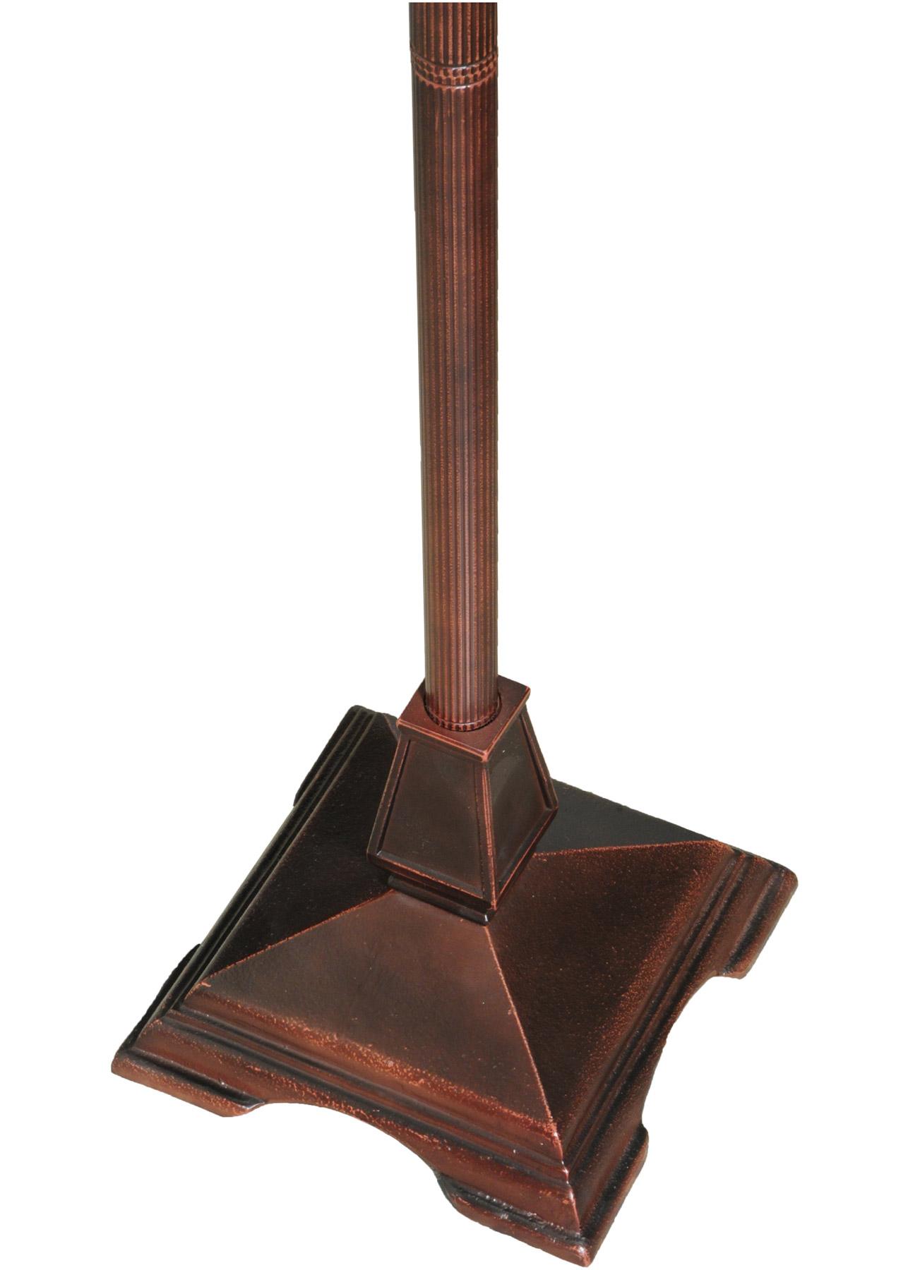Meyda 138112 Diamond 17 Quot Sq Floor Lamp