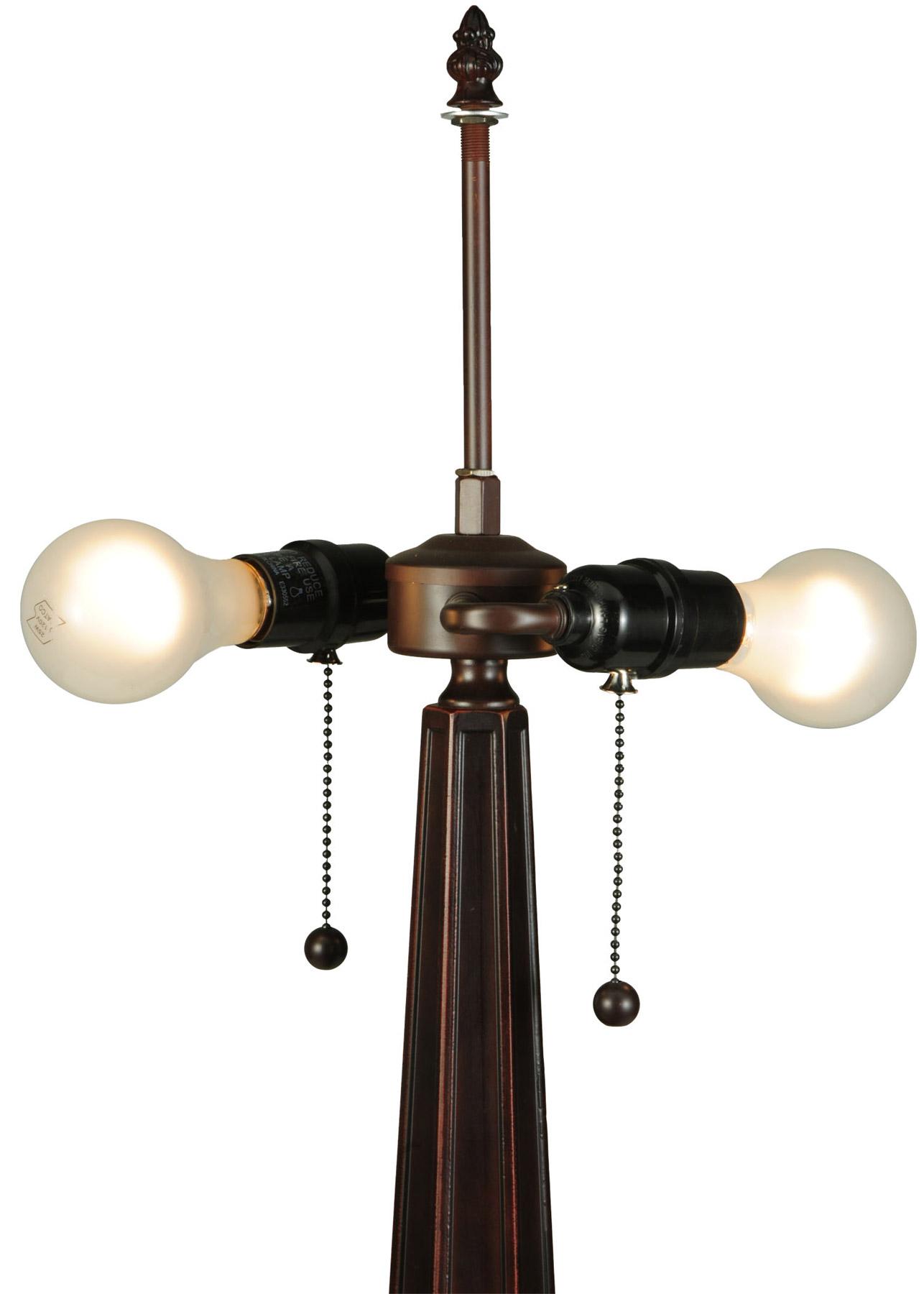 Meyda 138116 Peaches Table Lamp