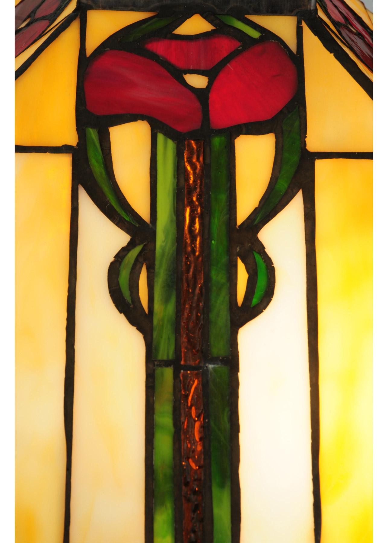 Meyda 138117 Parker Poppy Table Lamp