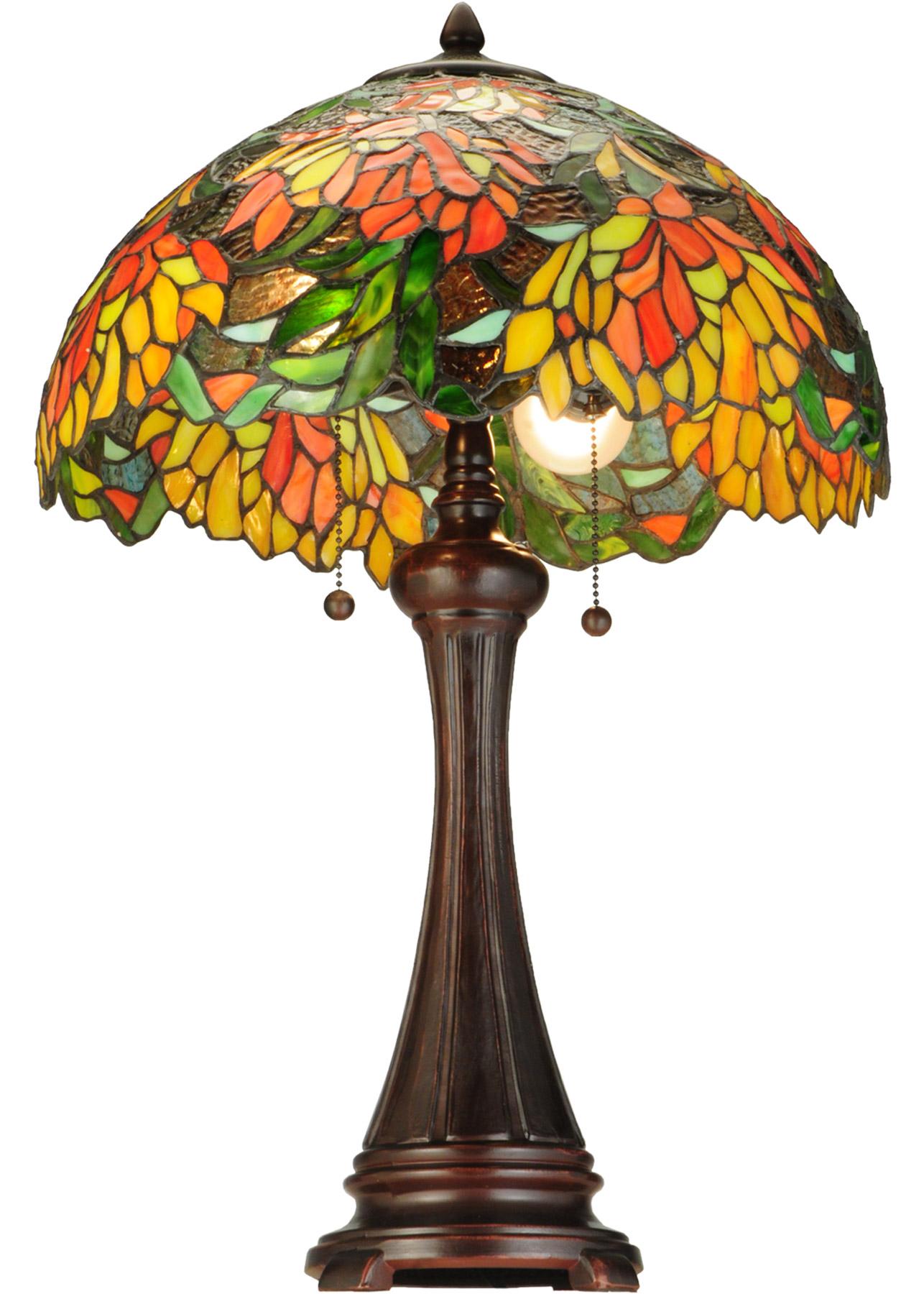 Meyda 138122 Lamella Table Lamp