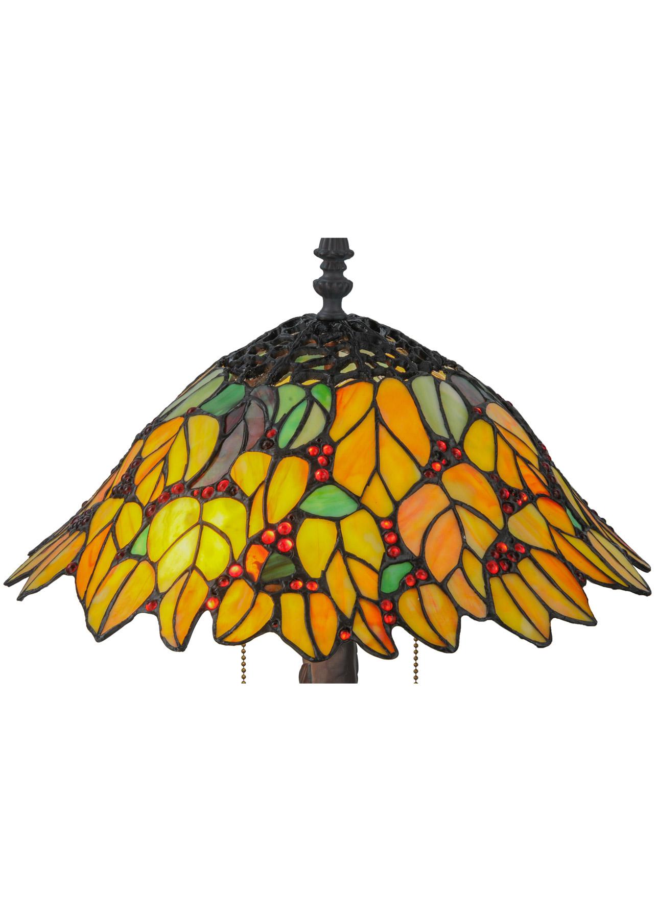 Meyda 139603 Follaje Table Lamp