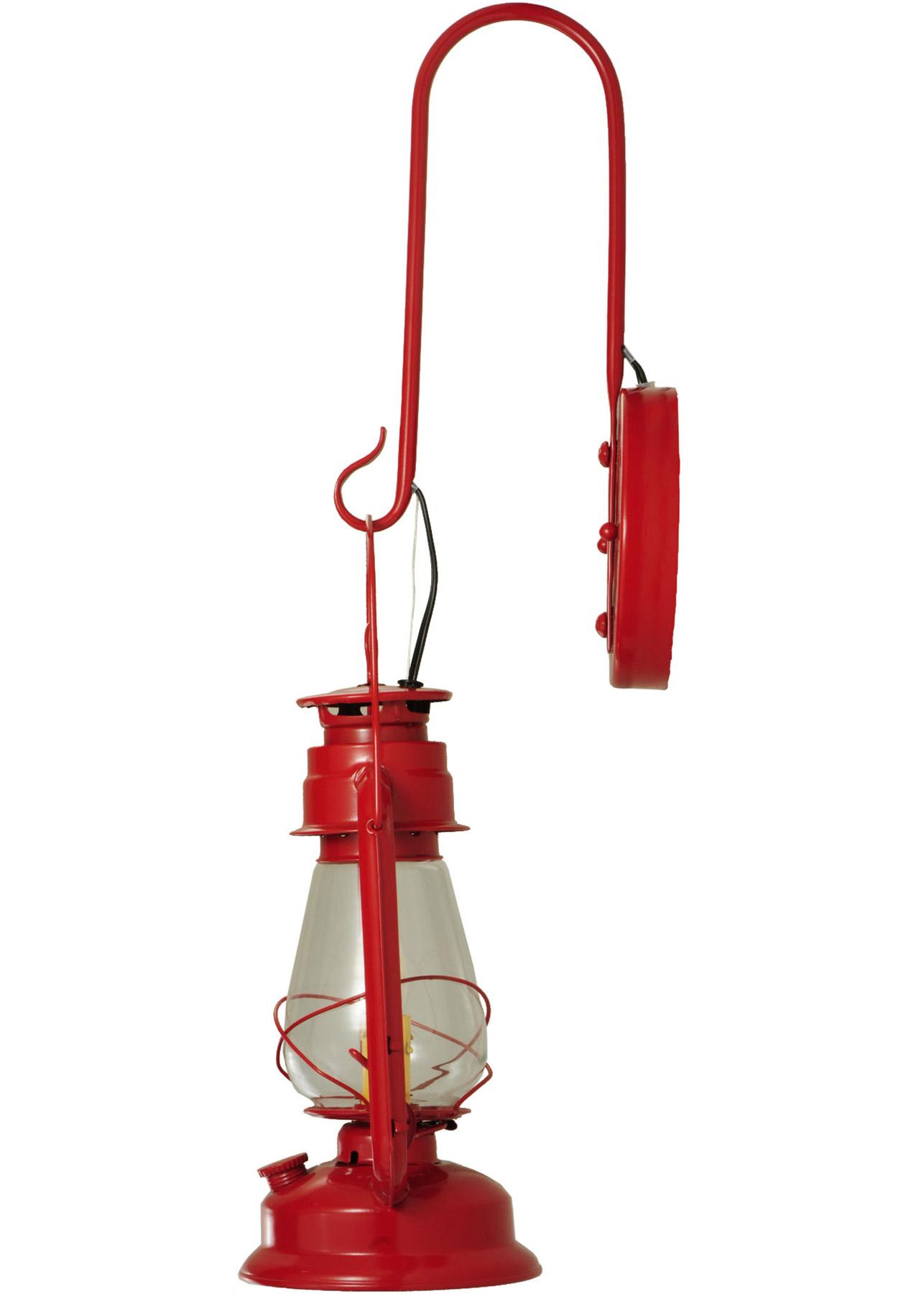 Meyda 139699 Miners Lantern Red Wall Sconce