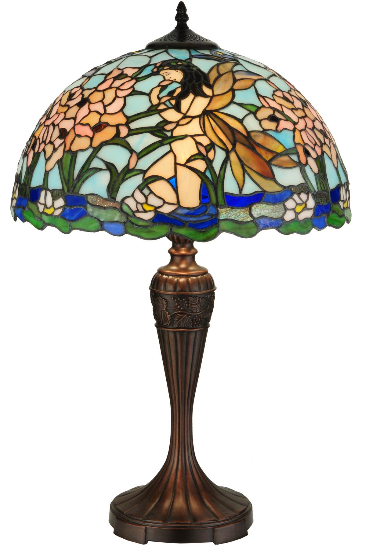 Meyda 140006 Fairy Pond Table Lamp