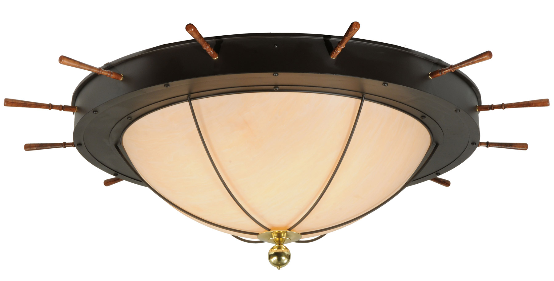 Meyda 140743 nautical flush mount ceiling fixture aloadofball Images