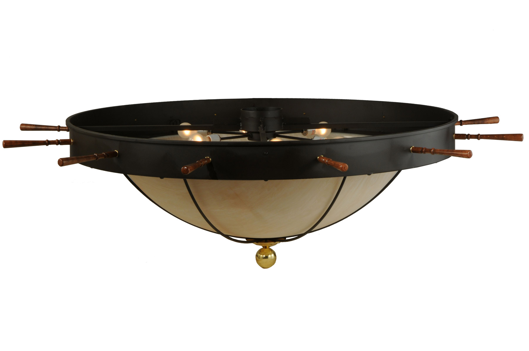 nautical flush mount ceiling fixture meyda 140743. Black Bedroom Furniture Sets. Home Design Ideas