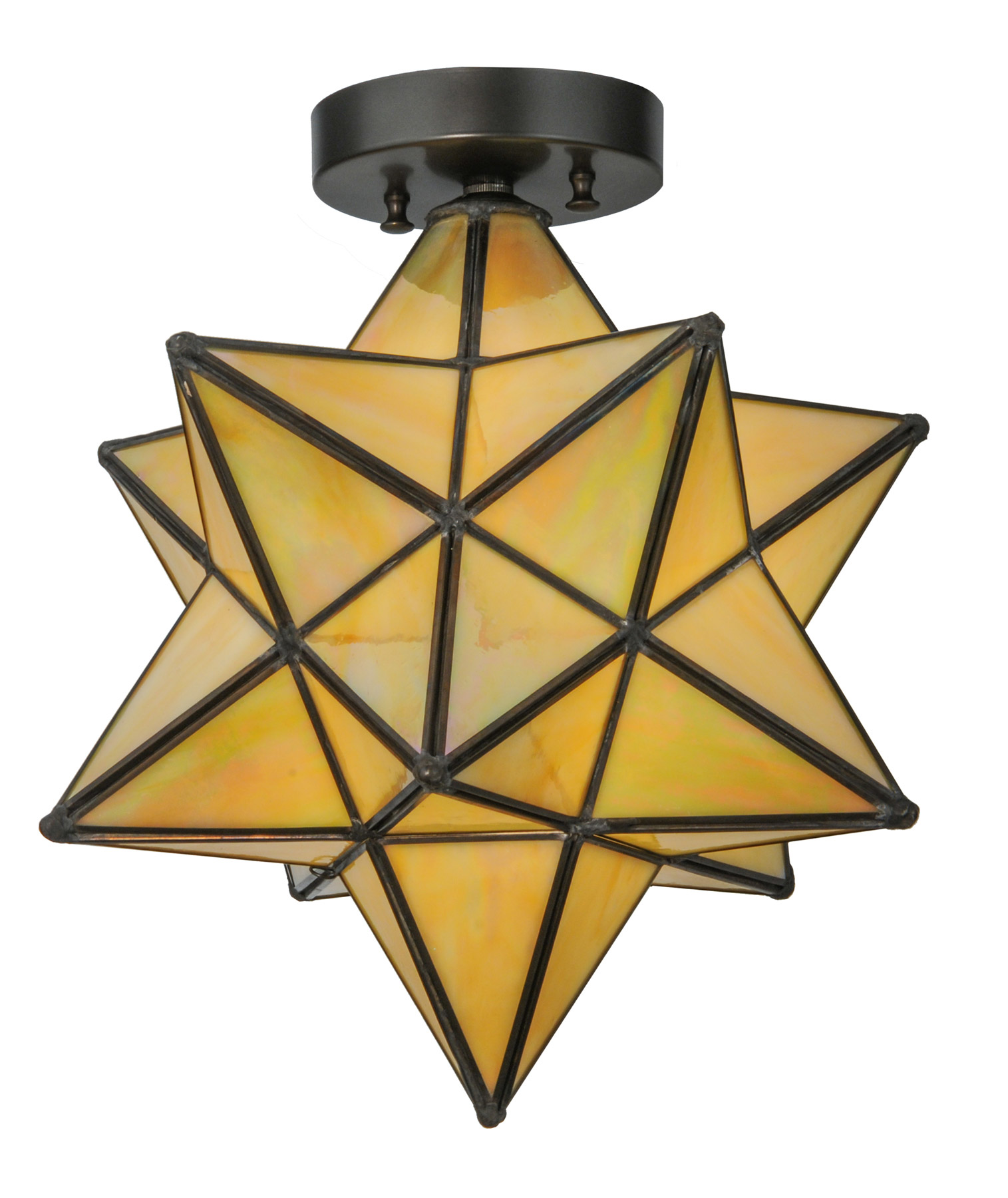 Meyda 148883 moravian star flush mount ceiling fixture aloadofball Image collections