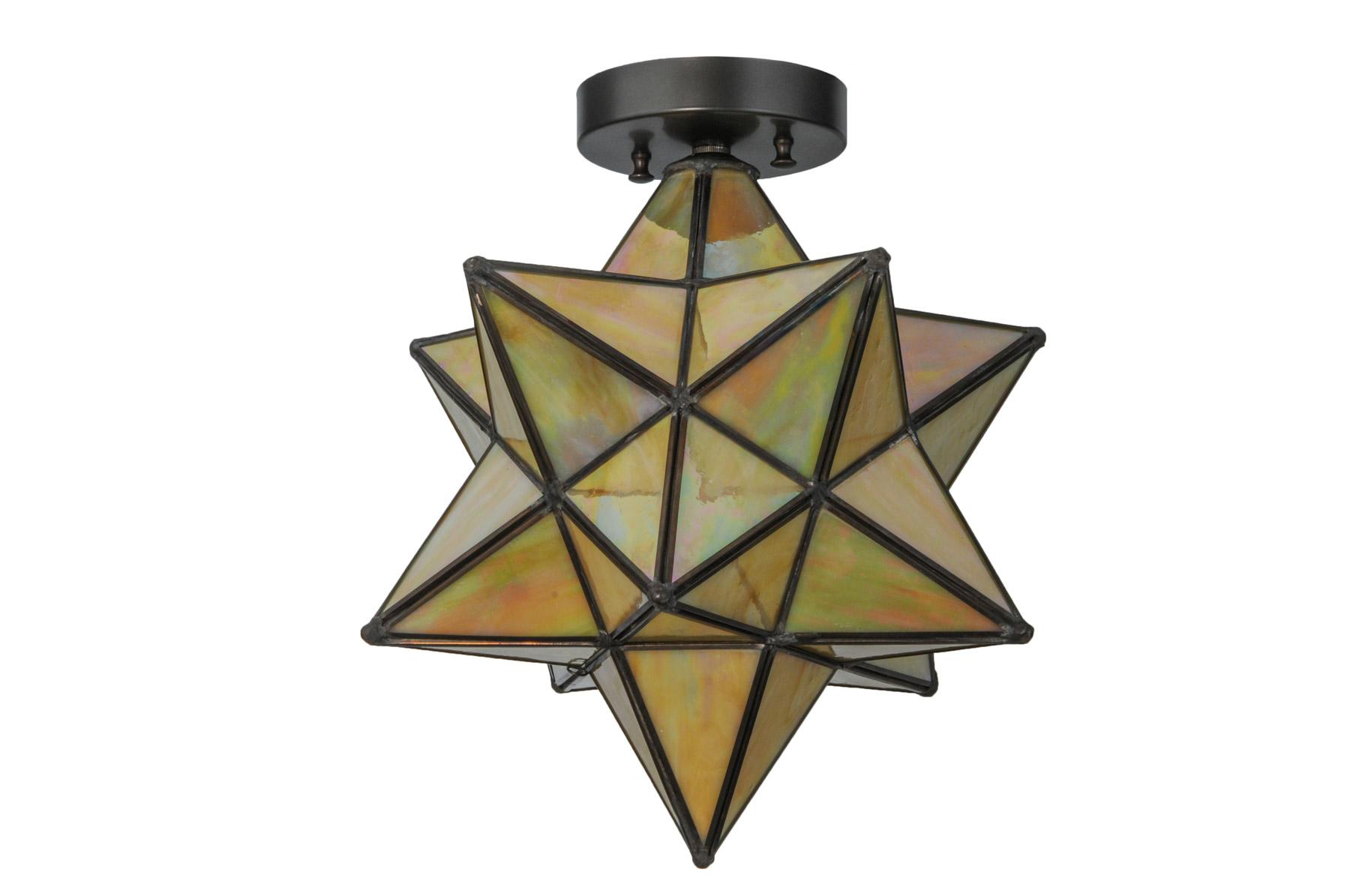 meyda 148883 moravian star flush mount ceiling fixture. Black Bedroom Furniture Sets. Home Design Ideas