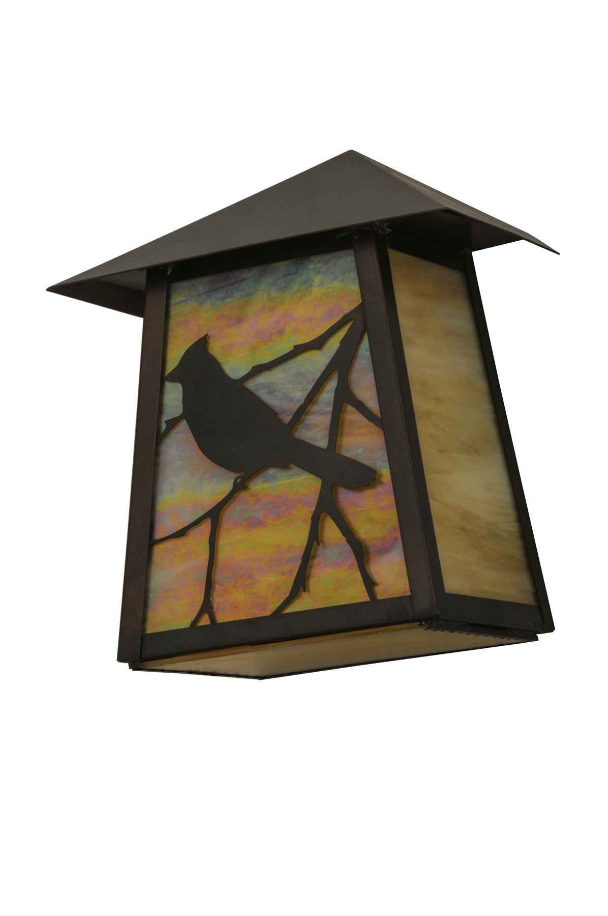 Wall Sconces With Birds : Meyda 150382 Stillwater Song Bird Wall Sconce