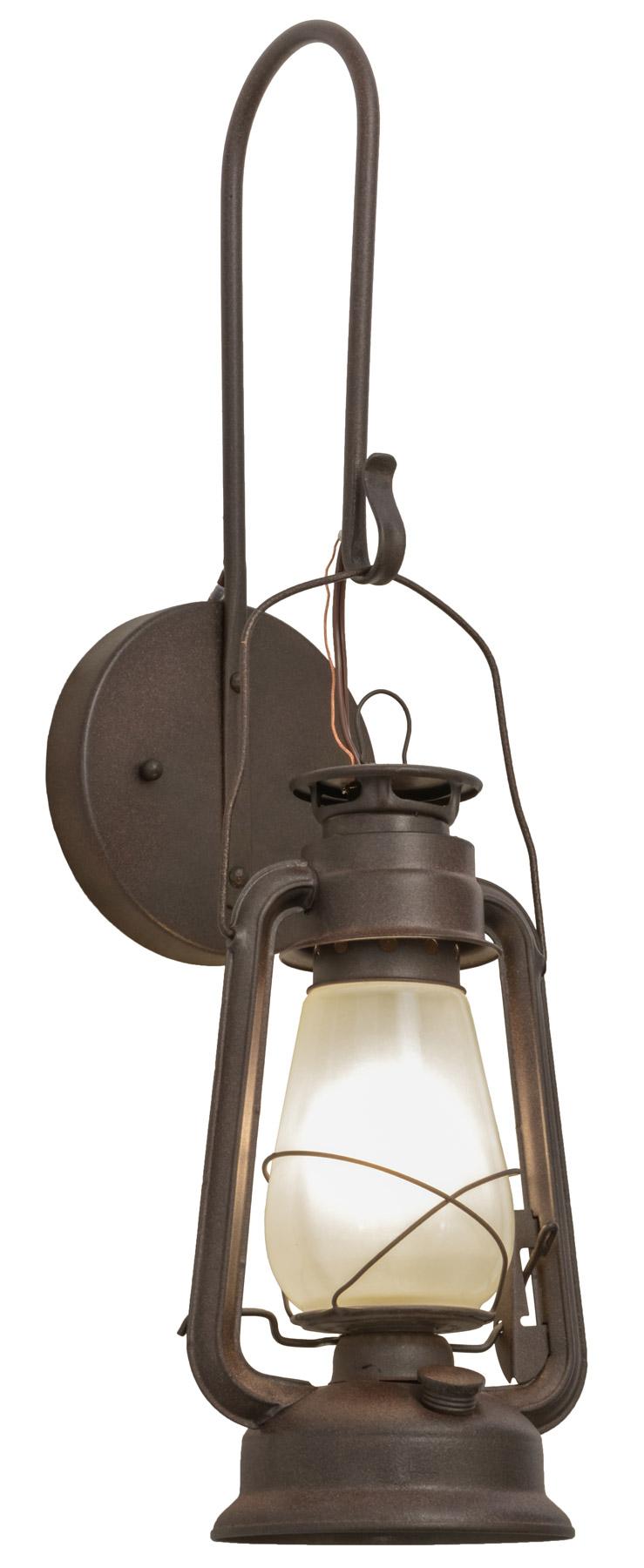 Meyda 153107 Miners Lantern Wall Sconce