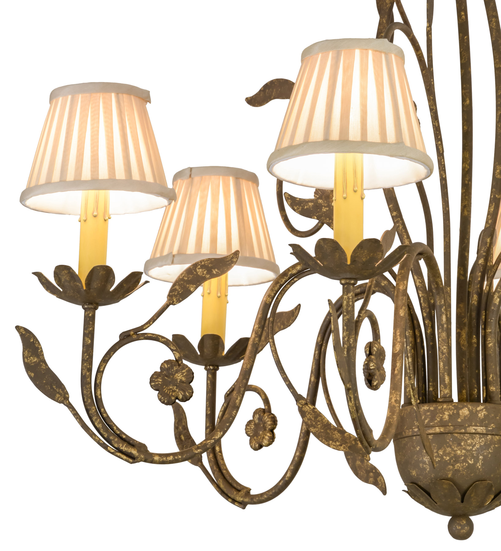 Elk Lighting Bordeaux: Meyda 154148 Bordeaux Six Light Chandelier