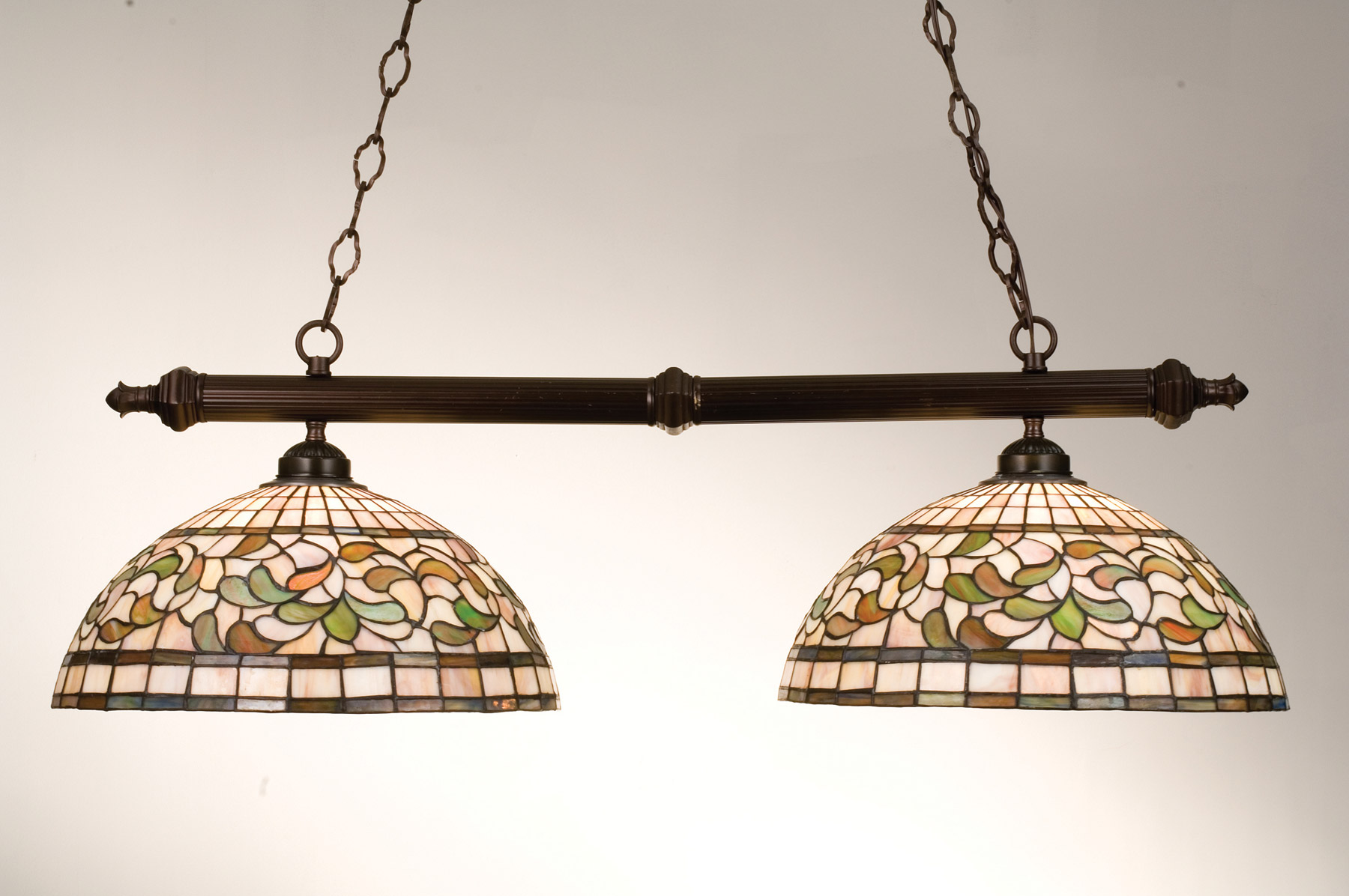 Meyda 18842 Tiffany Turning Leaf Island Light
