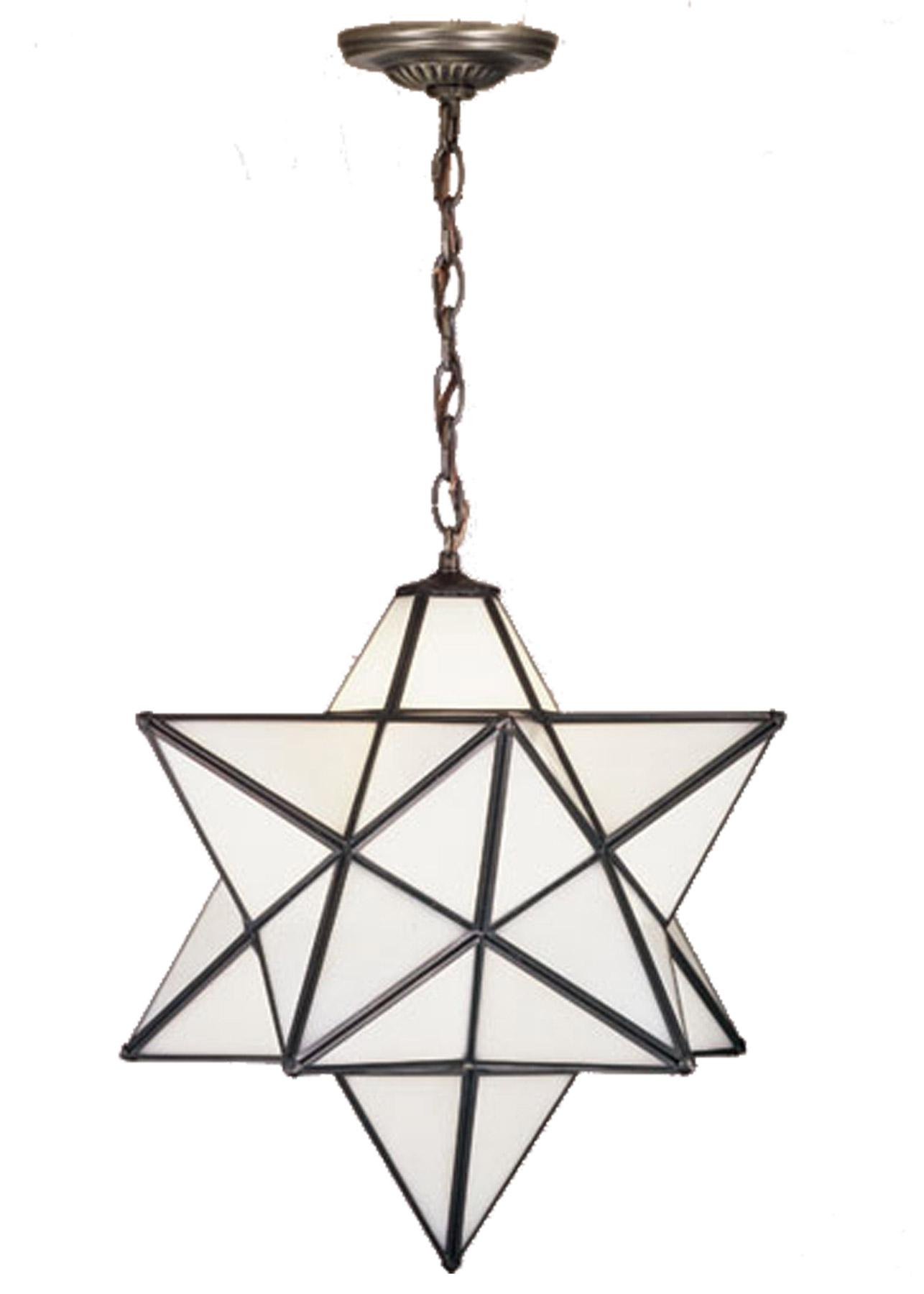Meyda 21842 Moravian Star Hanging Lamp