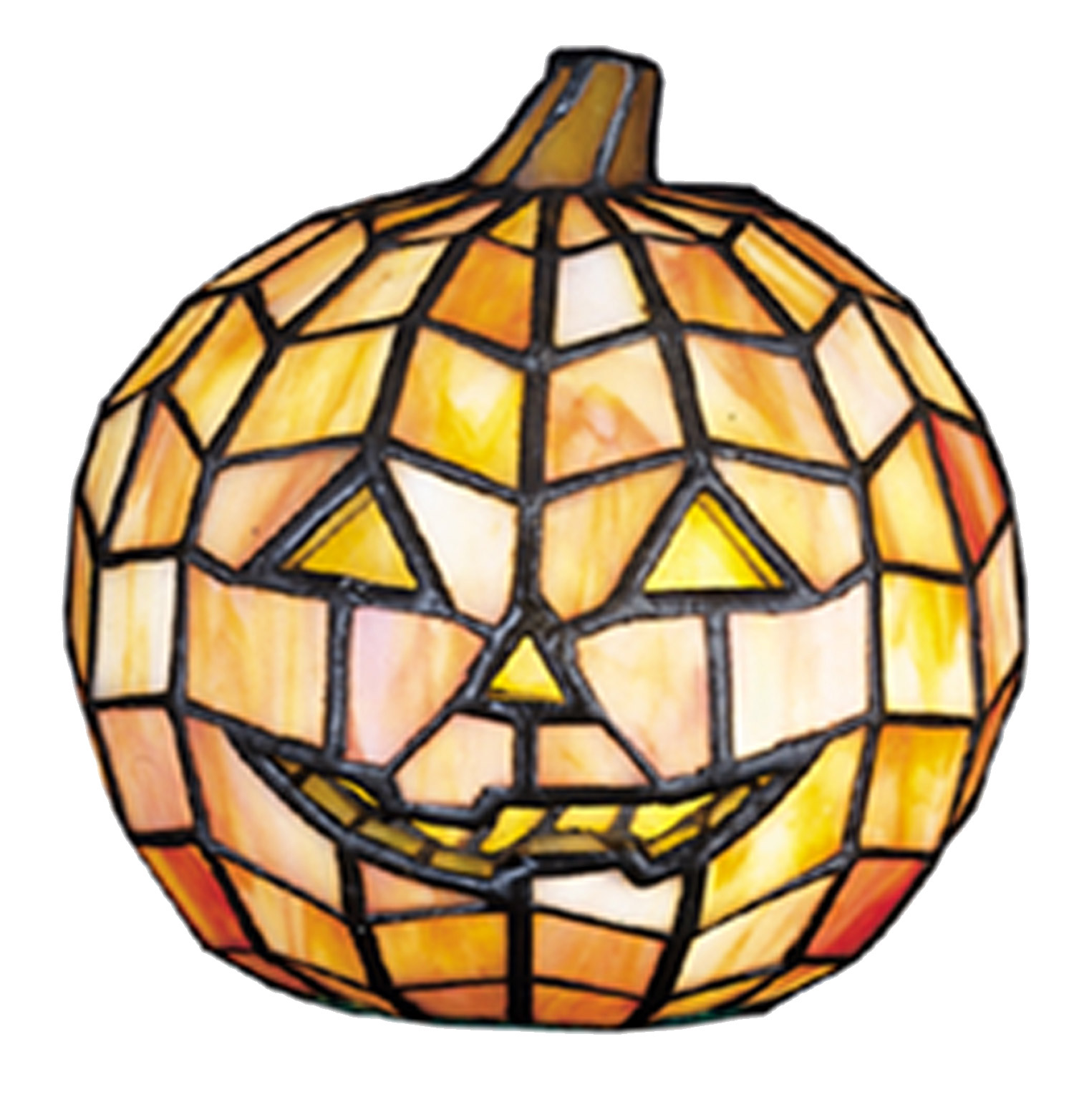 meyda tiffany pumpkin halloween accent lamp - Meyda Tiffany