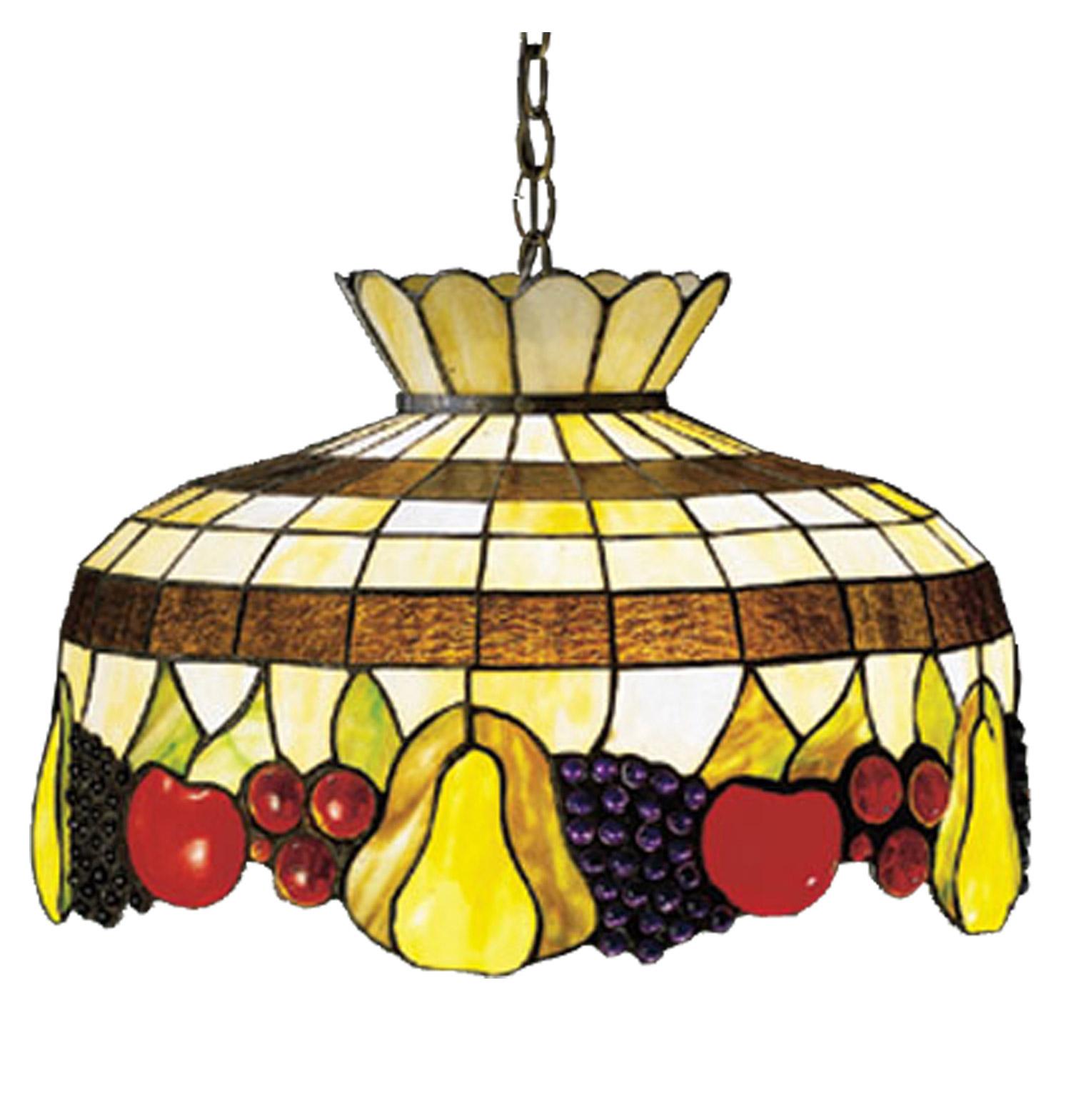 Meyda 26624 Tiffany Fruit Pendant