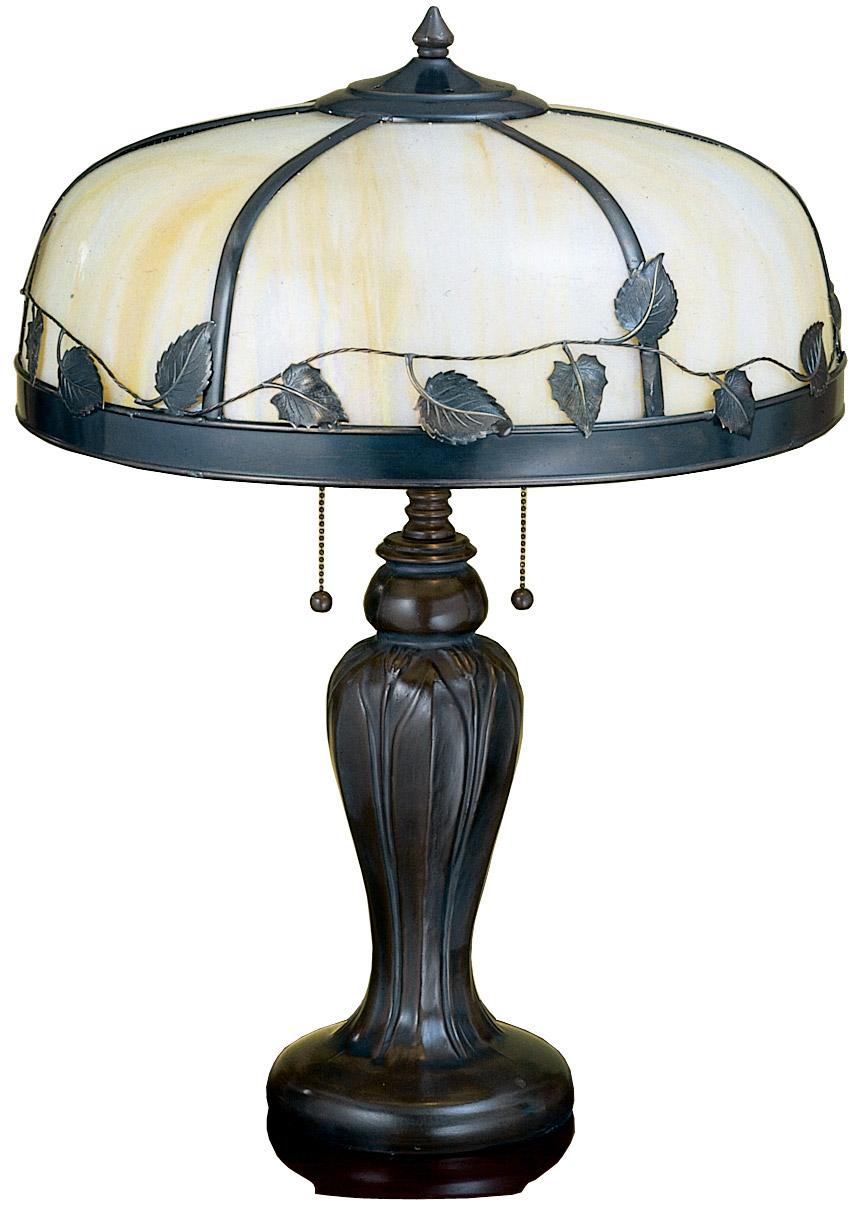 meyda 26904 arts crafts maple leaf table lamp. Black Bedroom Furniture Sets. Home Design Ideas