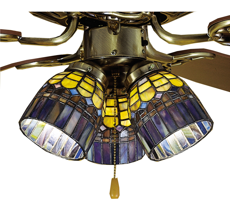 Meyda 27466 Tiffany Candice Fan Light Shade