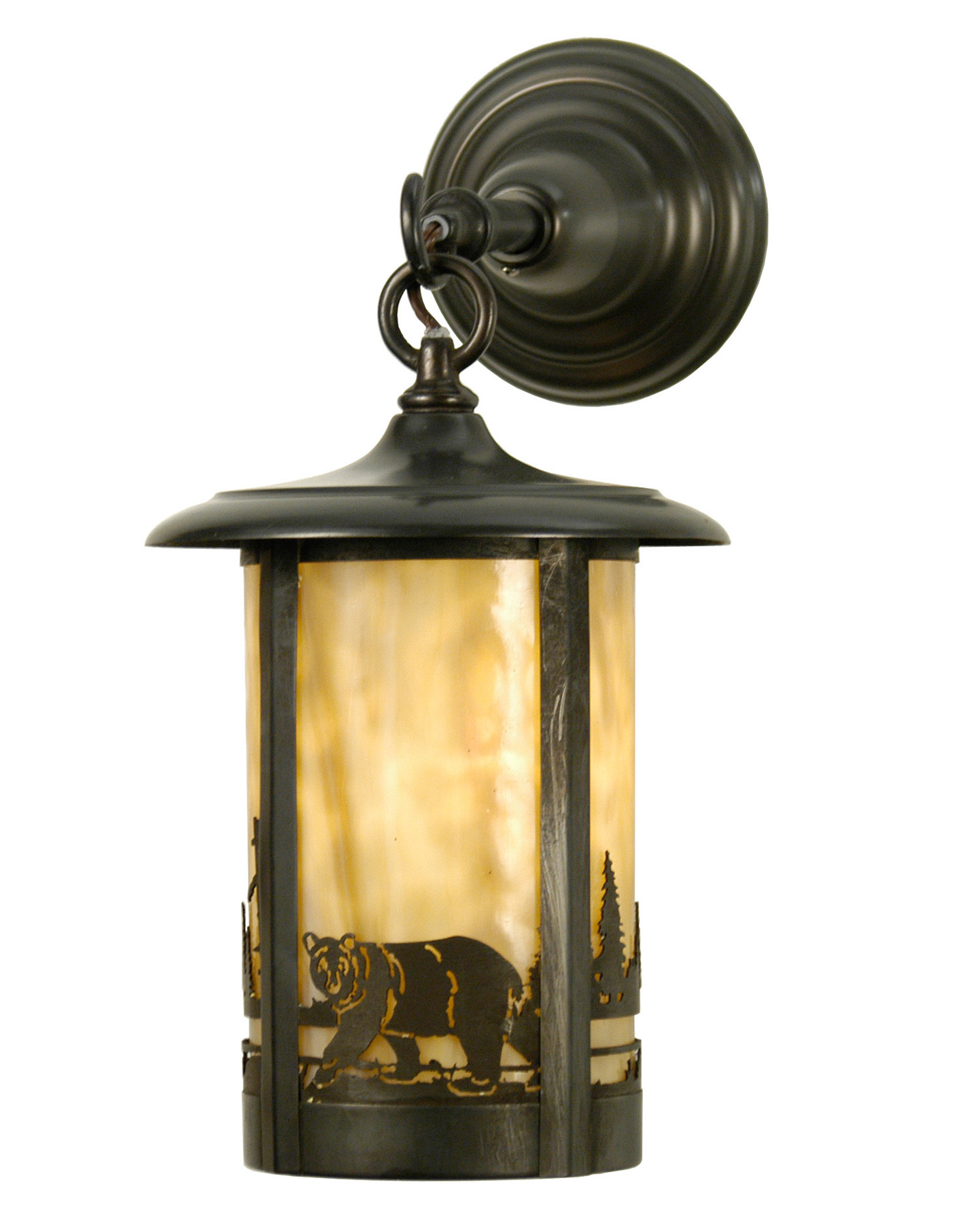 Meyda 28785 Fulton Bear Creek Hanging Wall Sconce
