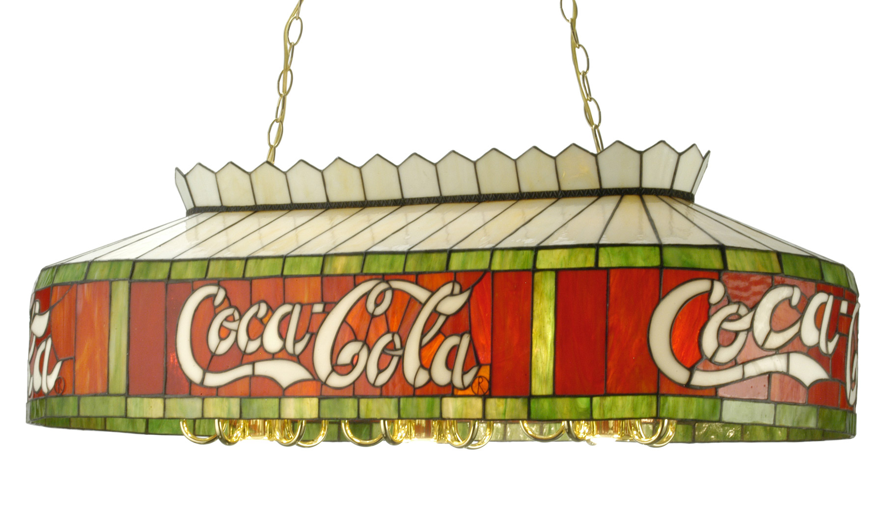 Meyda 29287 Coca Cola Island Light