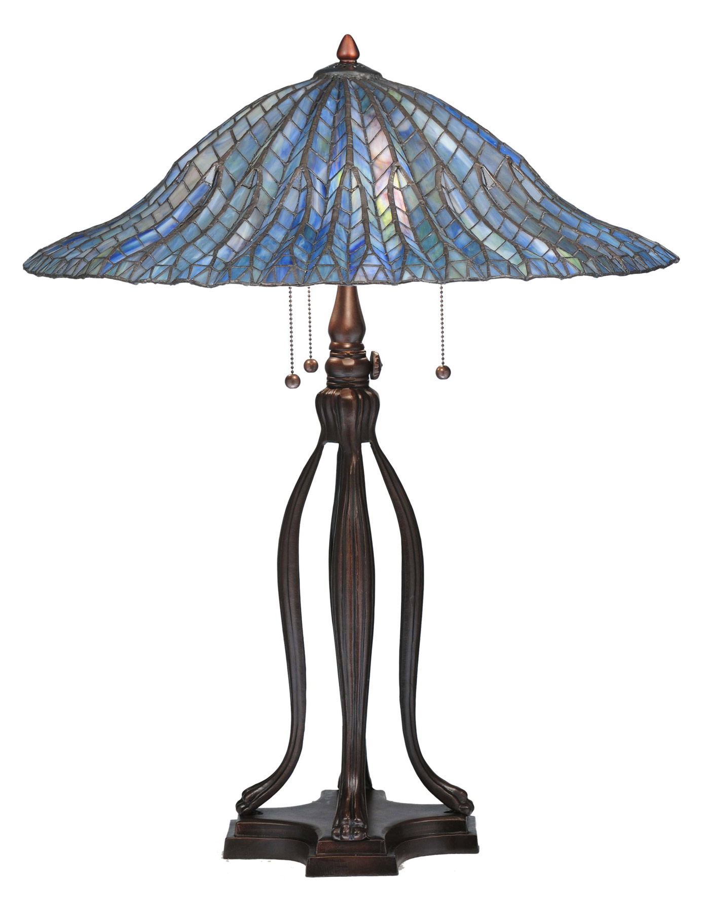 home lamps table lamps standard table lamps meyda 29385. Black Bedroom Furniture Sets. Home Design Ideas