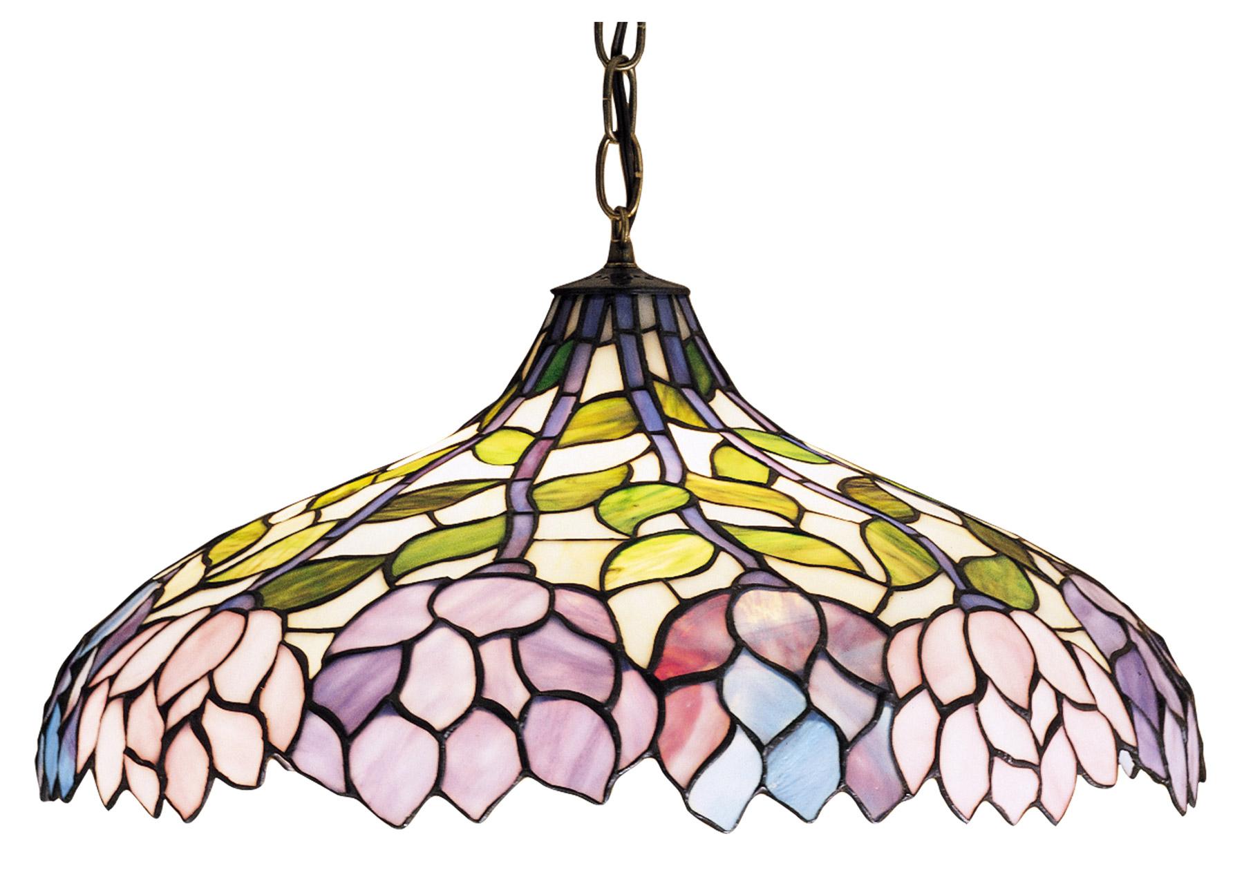 Meyda 30449 Tiffany Classic Wisteria Hanging Lamp