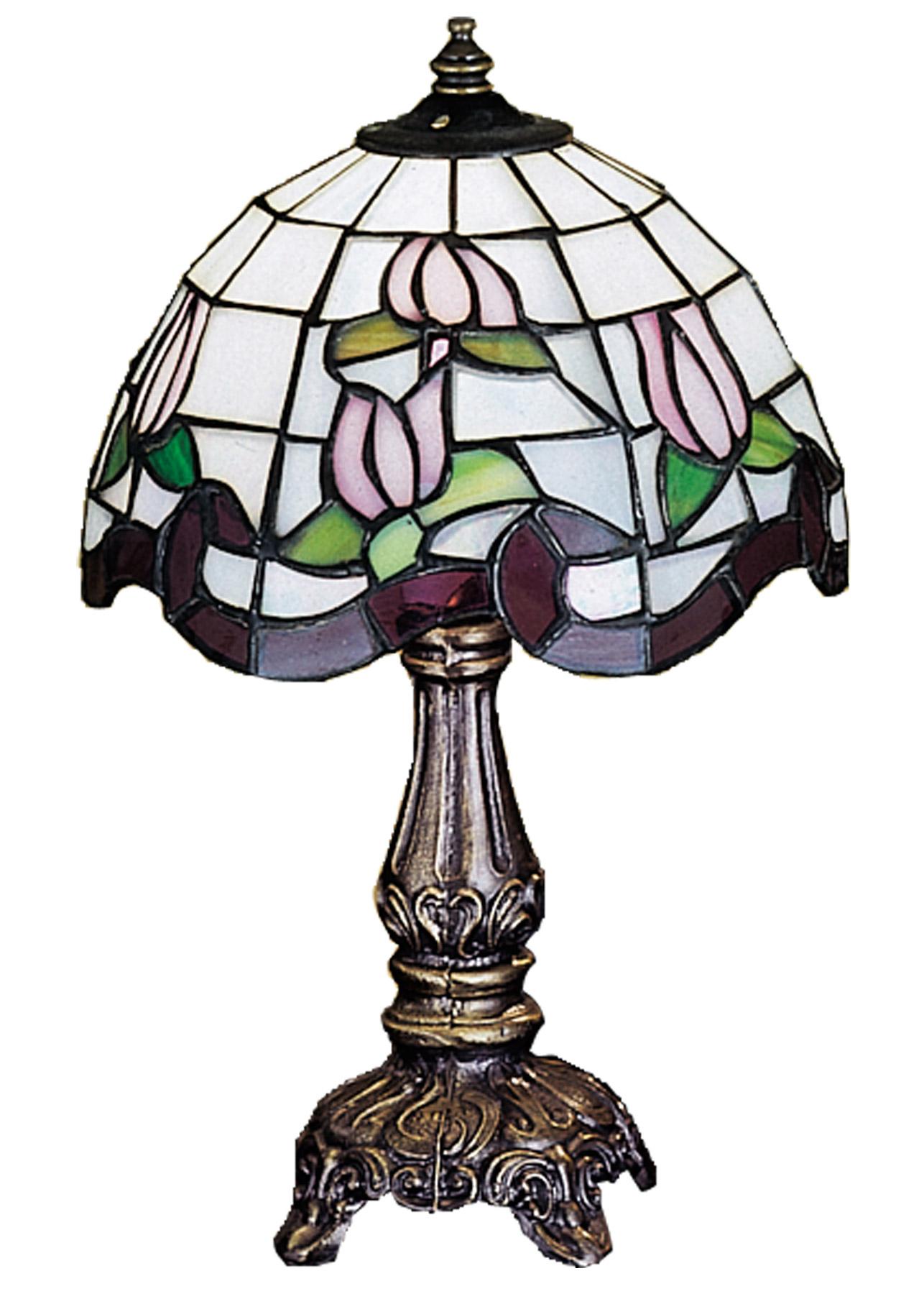 Meyda 31210 Tiffany Roseborder Mini Lamp