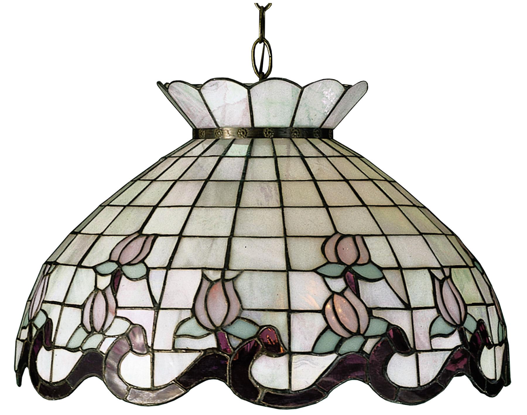 Meyda 31211 Tiffany Roseborder Hanging Lamp