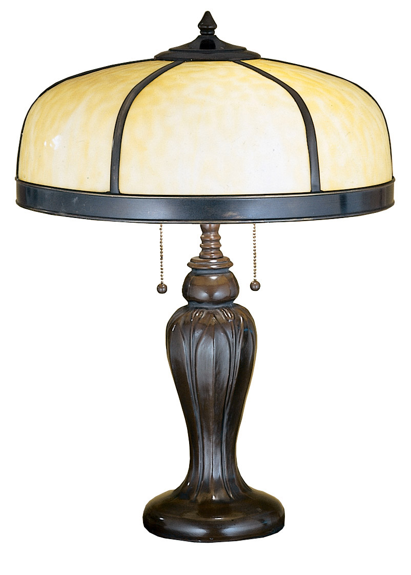 Meyda 31278 Arts Amp Crafts Dome Table Lamp