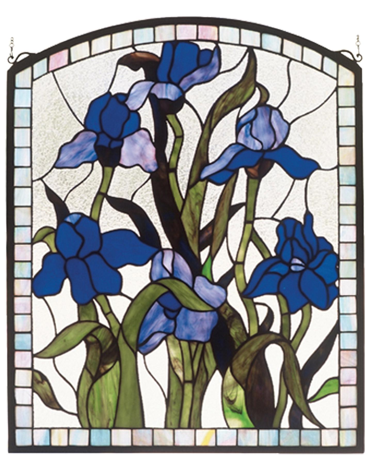 Glass Flower Wall Decor