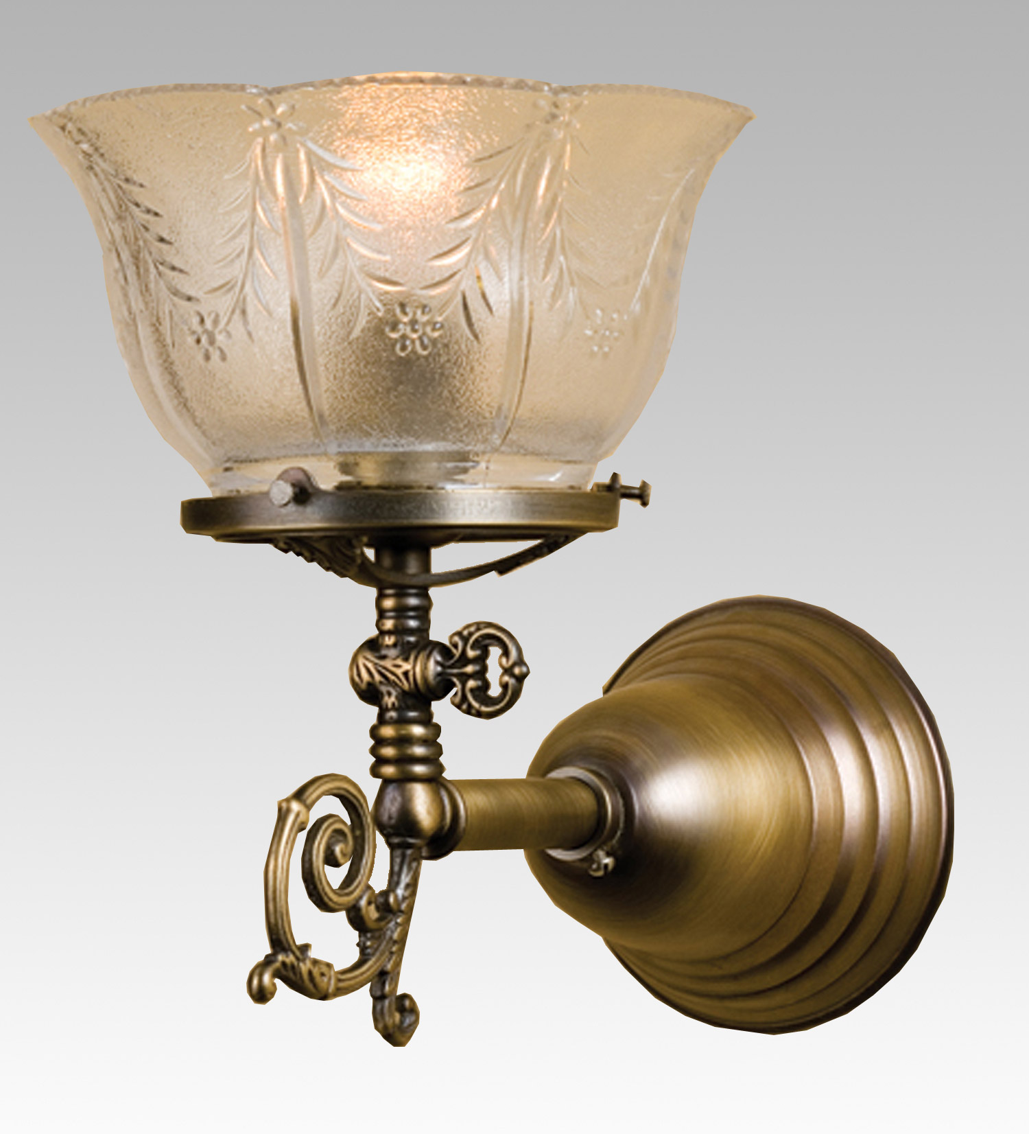 Wall Gas Lamps : Meyda 36617 Auburn Wheat Gas Wall Sconce