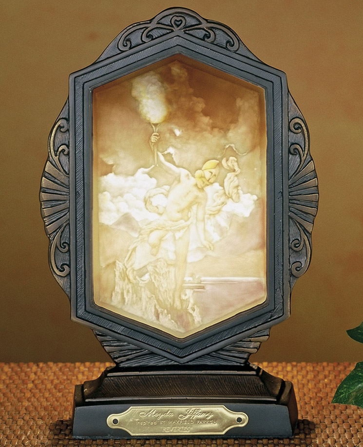 Meyda 37471 Maxfield Parrish Prometheus Accent Lamp