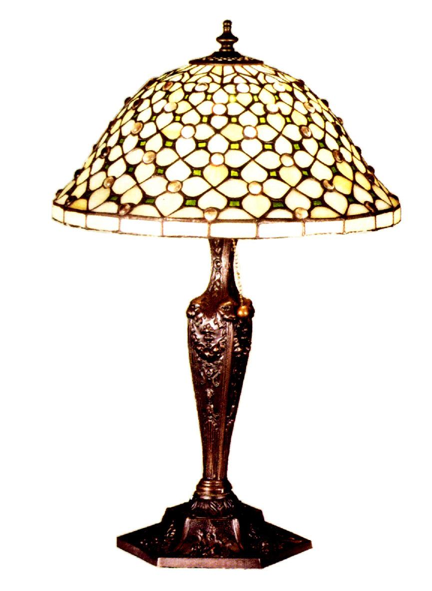meyda 37782 tiffany diamond jewel table lamp. Black Bedroom Furniture Sets. Home Design Ideas