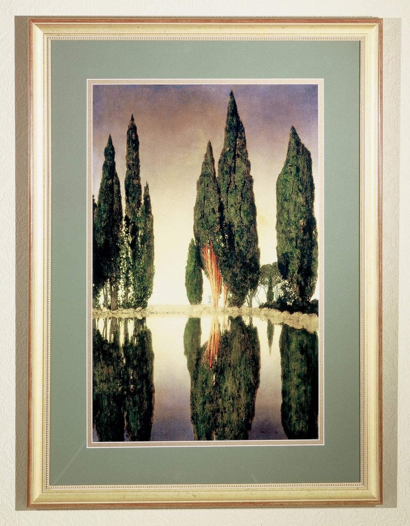 Meyda 46438 Maxfield Parrish Reservoir Framed Art