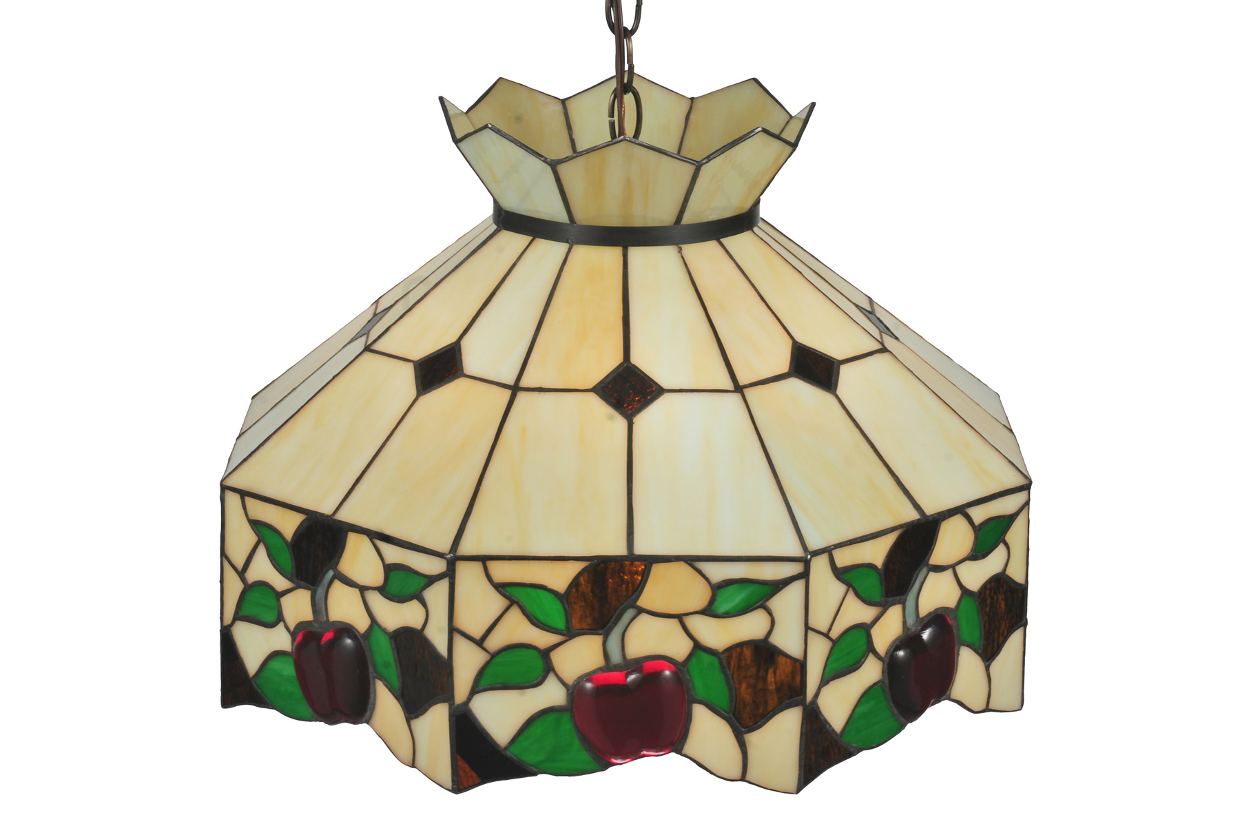 Meyda 47569 Tiffany Apple Blossom Hanging Lamp