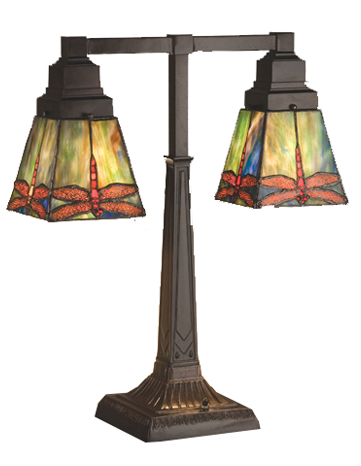 home lamps table lamps desk lamps meyda 48203. Black Bedroom Furniture Sets. Home Design Ideas