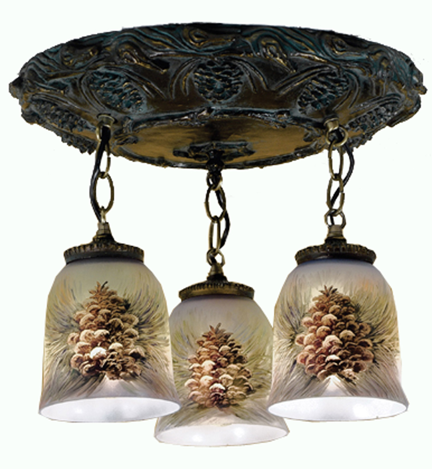 49537 northwoods pinecone pinecone three pendant semi flush mount meyda 49537 northwoods pinecone pinecone three pendant semi flush mount ceiling light arubaitofo Choice Image