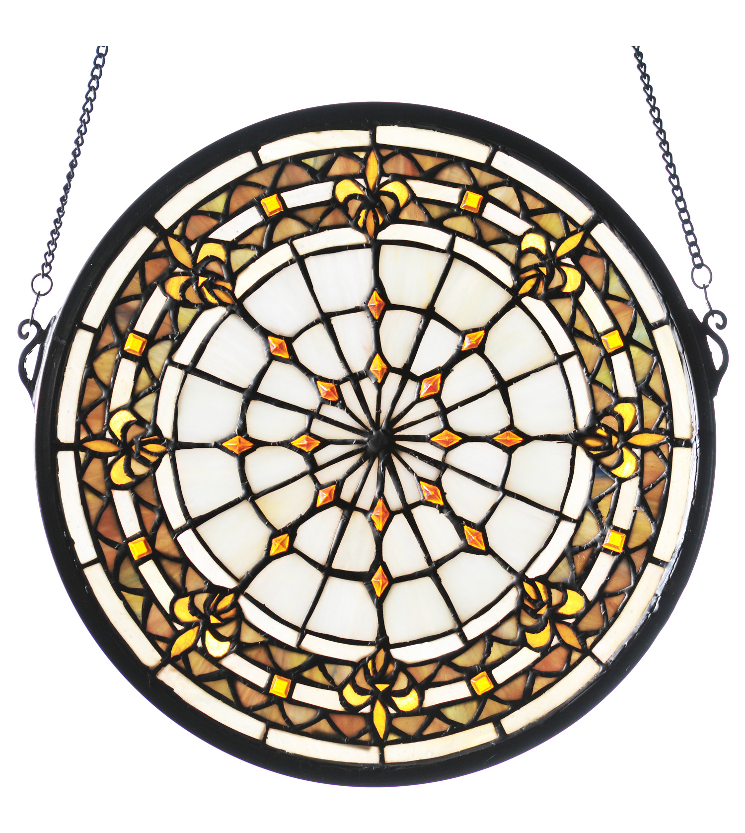 deacon large libraries handle medallion glass stained mit the watercolor for design image sv