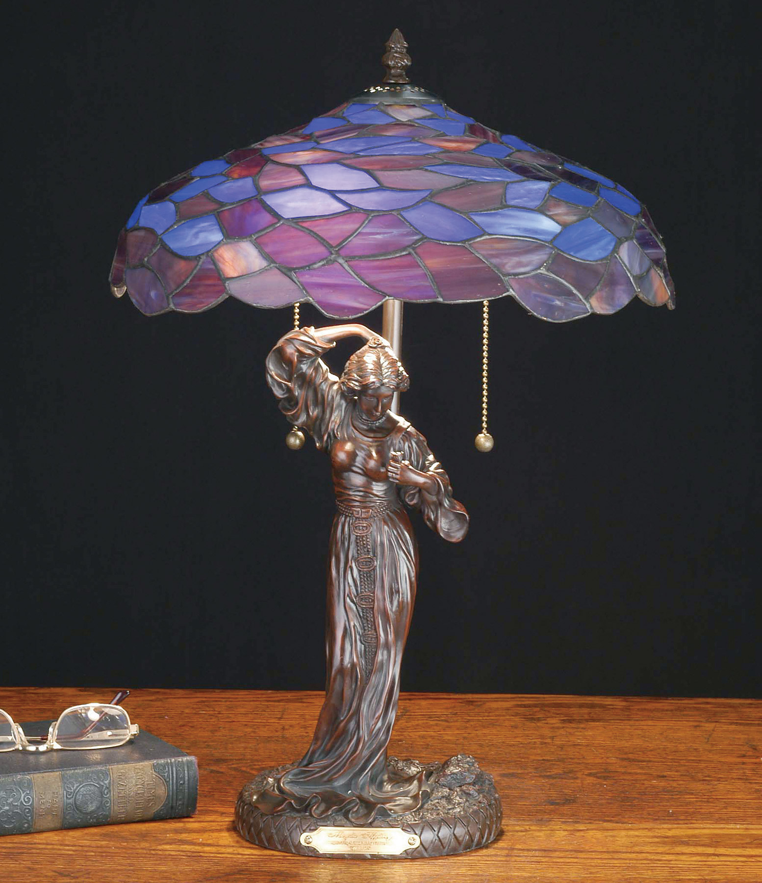 Meyda 51565 Tiffany Maxfield Parrish Griselda Table Lamp