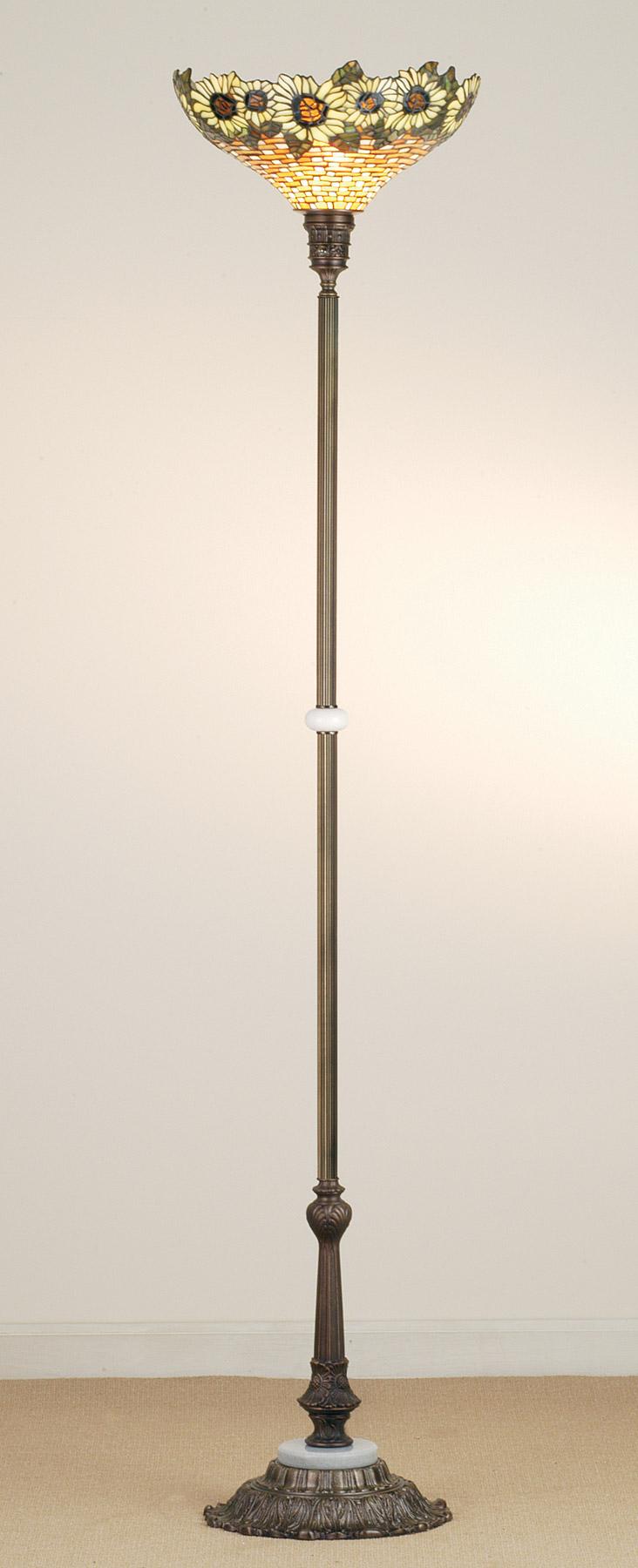 home lamps floor lamps torchiere meyda 65837. Black Bedroom Furniture Sets. Home Design Ideas