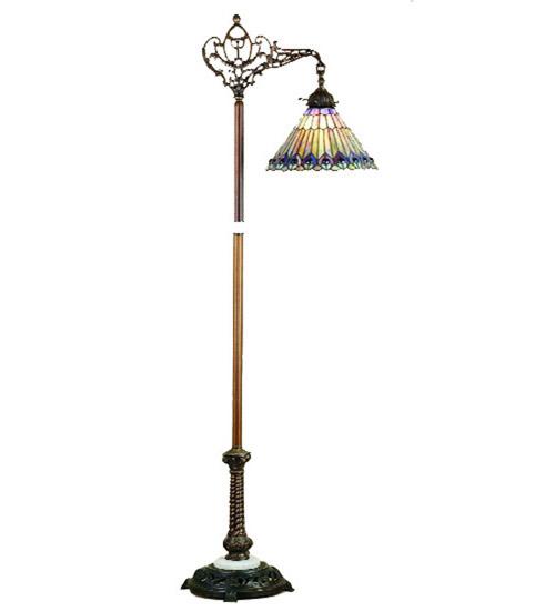home lamps floor lamps bridge arm floor lamps meyda 65841. Black Bedroom Furniture Sets. Home Design Ideas