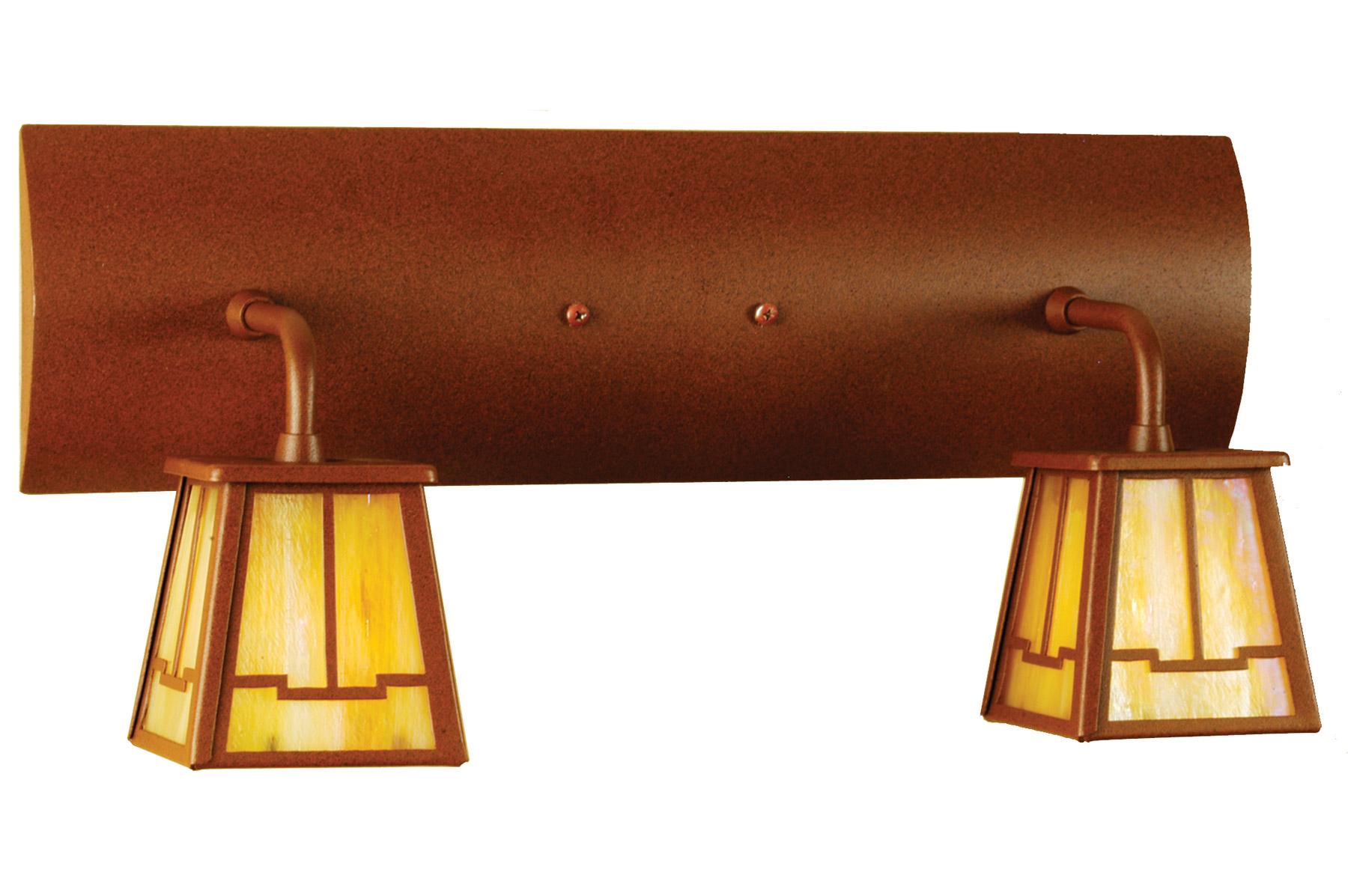 Craftsman Style Bathroom Lighting : Meyda bungalow valley view vanity light