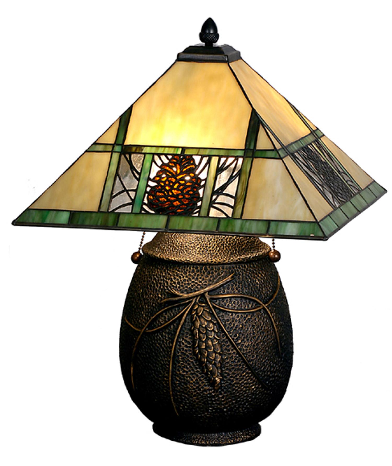Meyda 67850 Pinecone Table Lamp