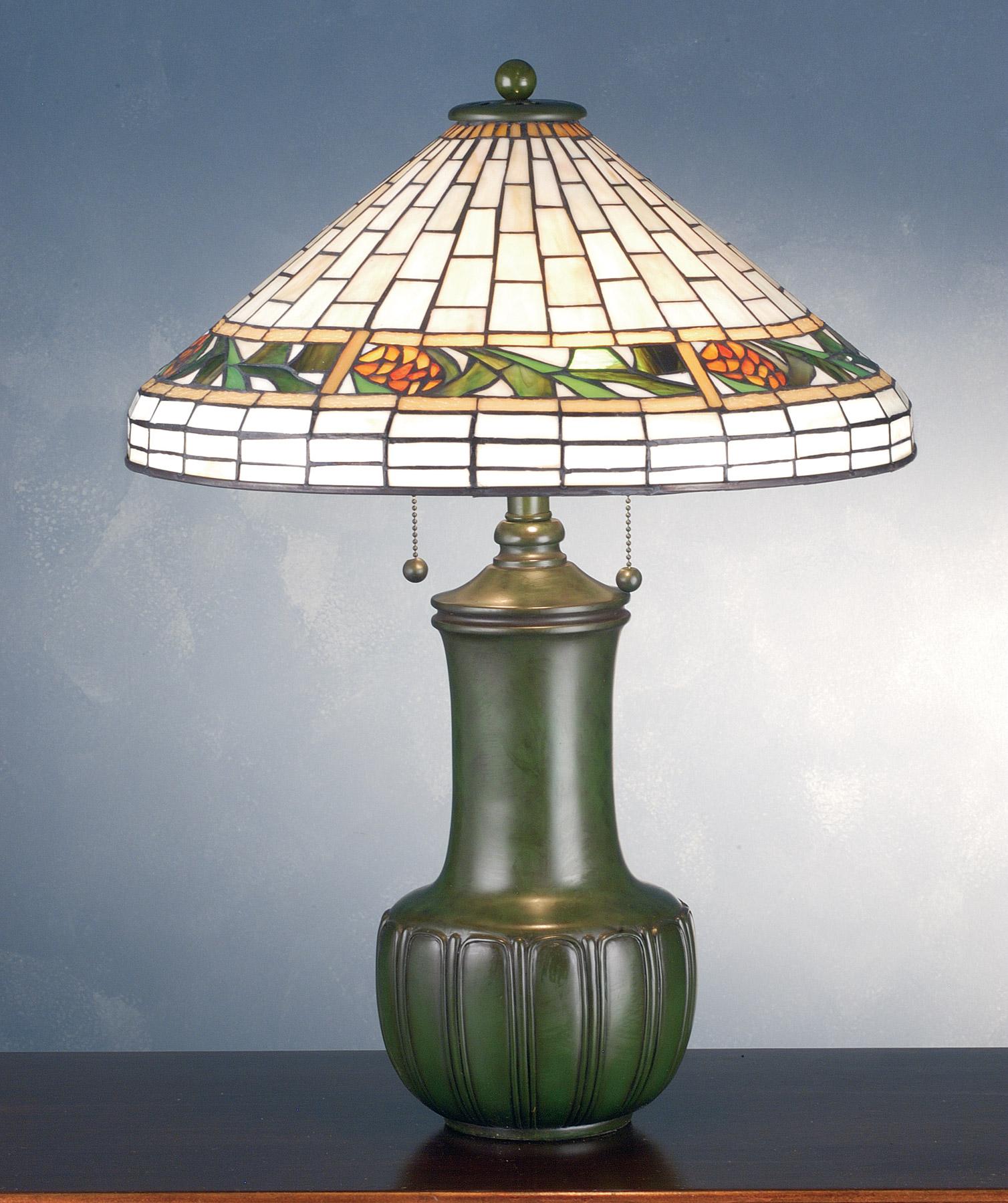Meyda 71437 Bungalow Pine Cone Table Lamp